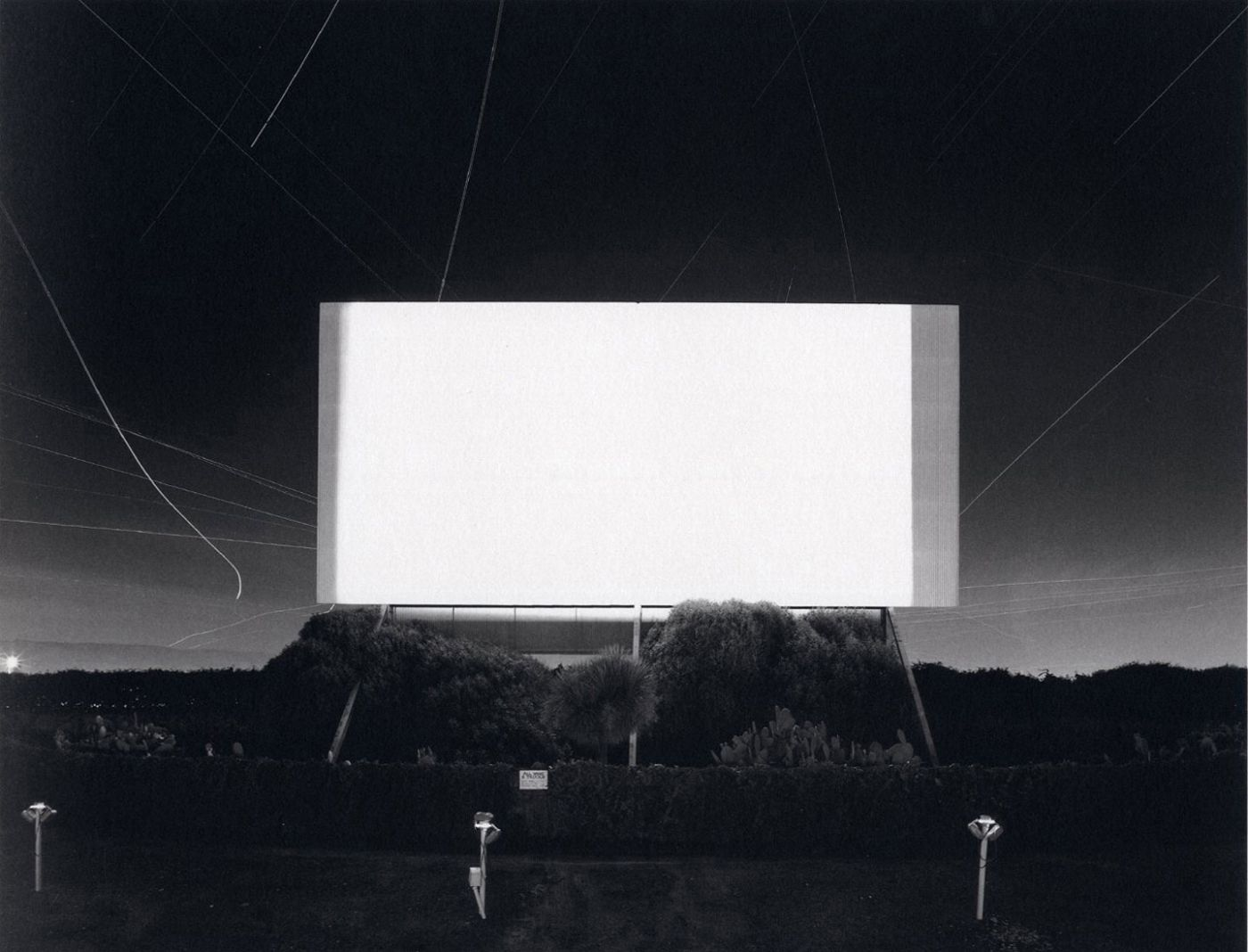 Hiroshi Sugimoto: Theaters [SIGNED in English with a calligraphy brush]
