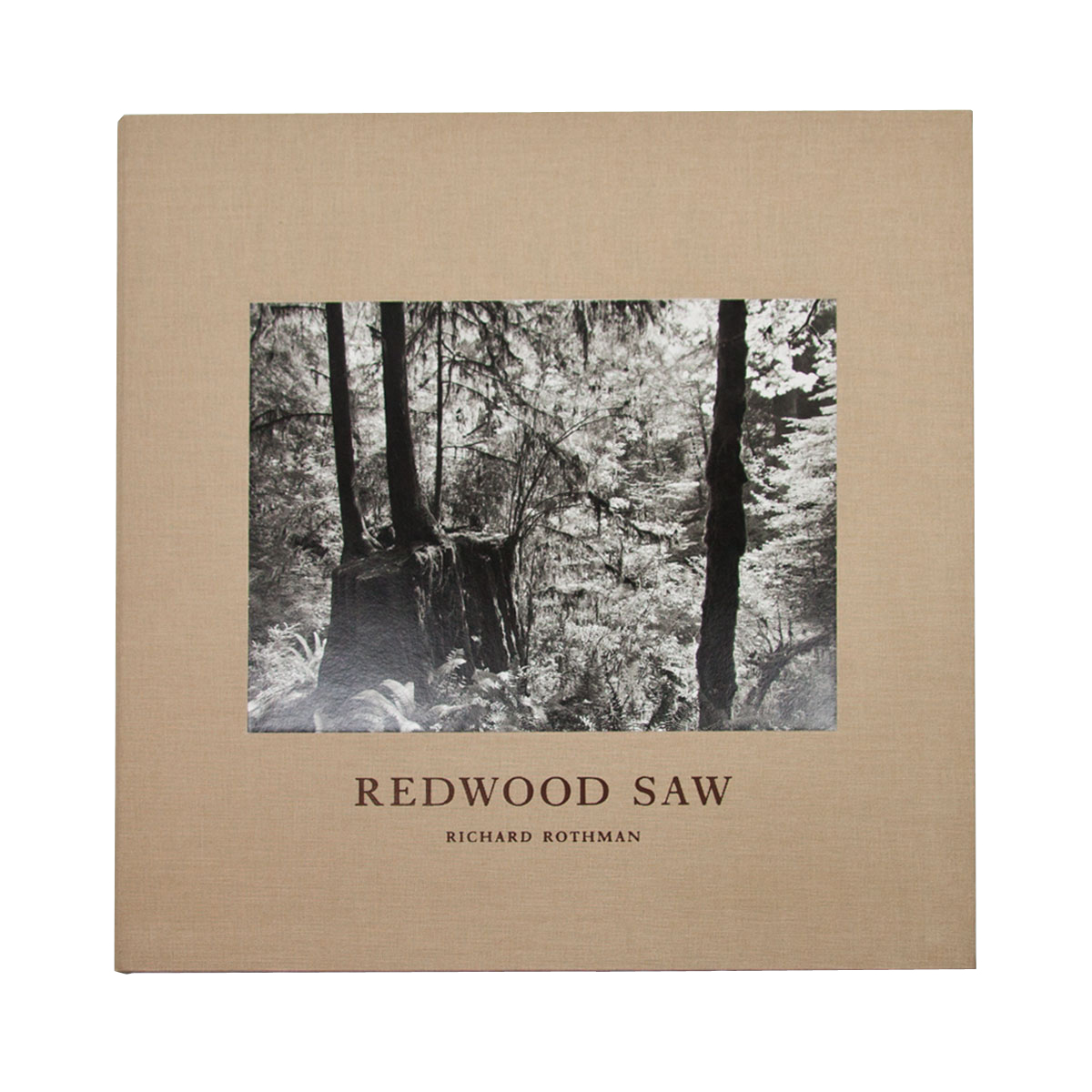 """Richard Rothman: Redwood Saw, Special Limited Edition (with """"Forest"""" Print Variant)"""