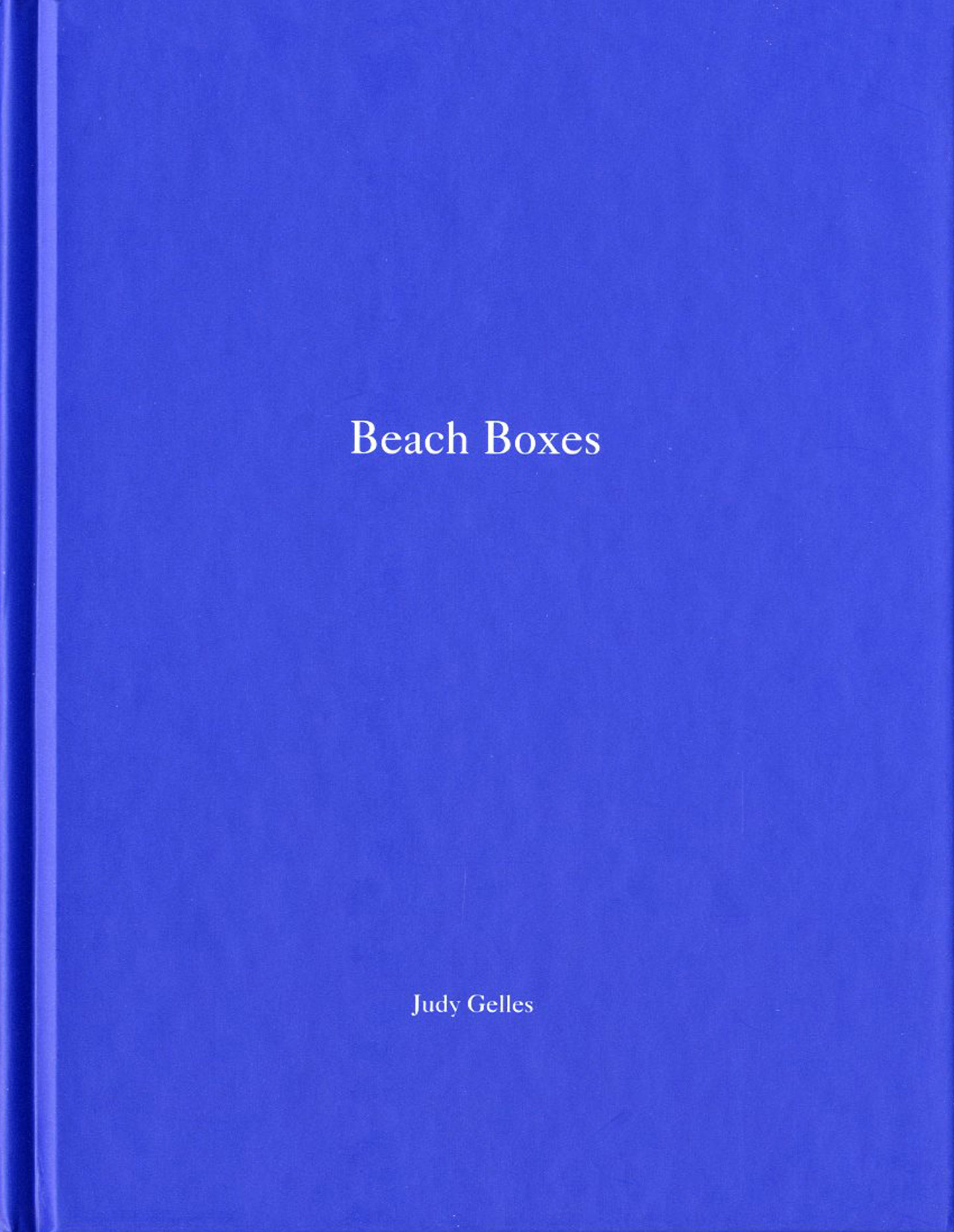 Judy Gelles: Beach Boxes (One Picture Book #24), Limited Edition