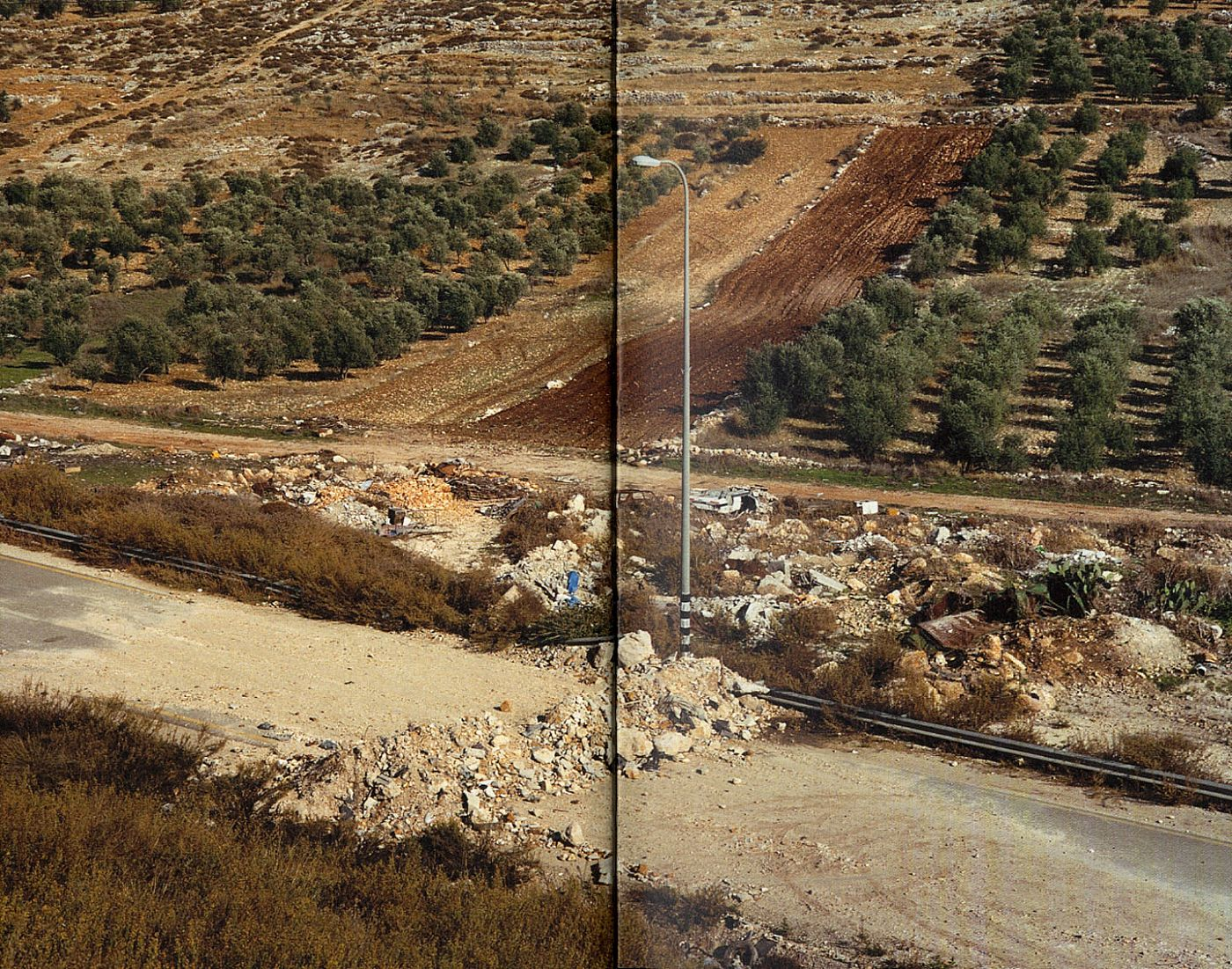 Sophie Ristelhueber: WB (West Bank)