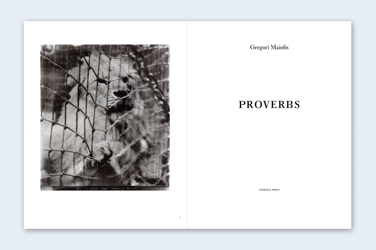 Gregori Maiofis: Proverbs, Special Limited Edition (with Print) [SIGNED]