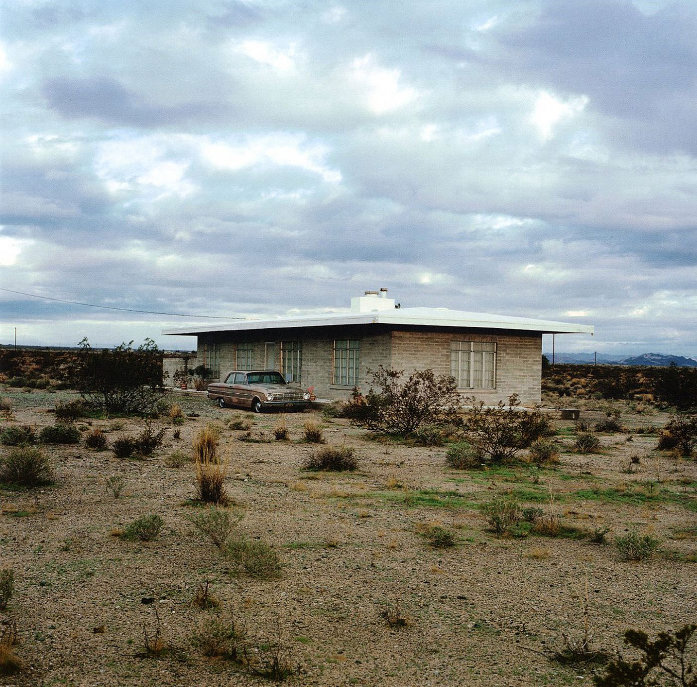 John Divola: Isolated Houses (Second Printing) [SIGNED]
