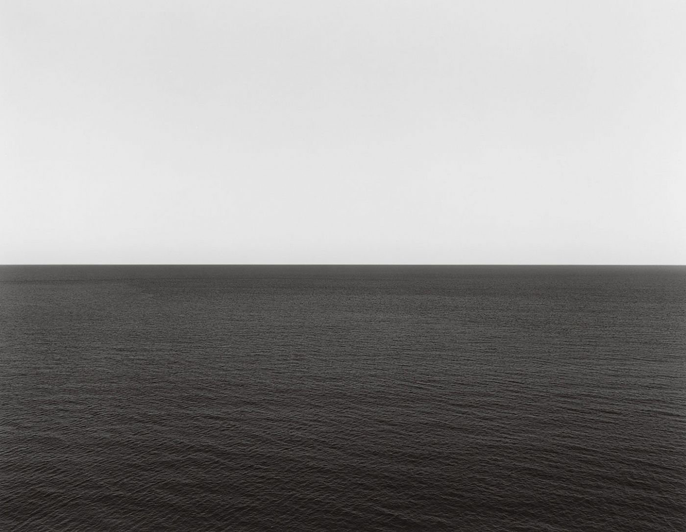 "Hiroshi Sugimoto: The Long Never, Deluxe Limited Collector's Edition of 25 (with Gelatin Silver Print, ""Lightning Fields 304"")"