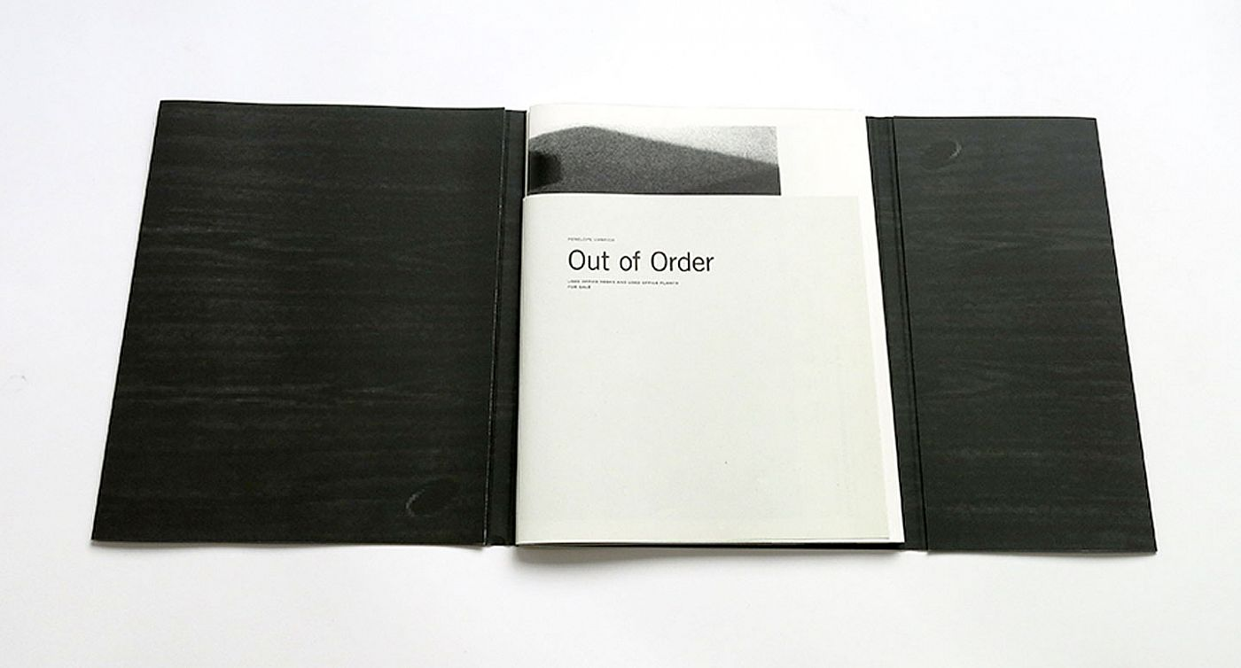 "Penelope Umbrico: Out of Order, Limited Edition (with Type-C Print Variant ""Office Furniture / Reception Area"") [SIGNED]"