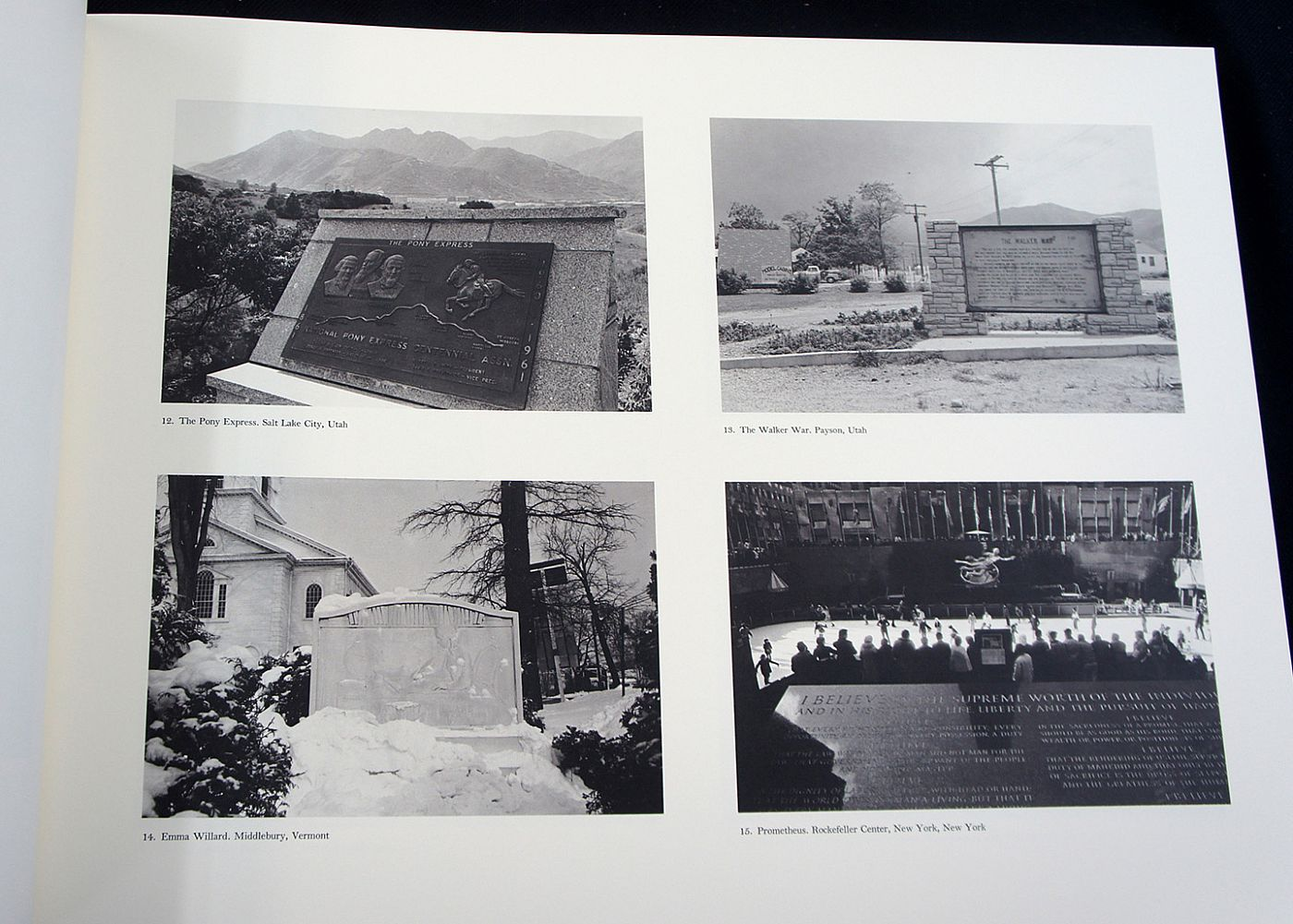 Lee Friedlander: The American Monument (Special Limited Edition with One Vintage Gelatin Silver Print)