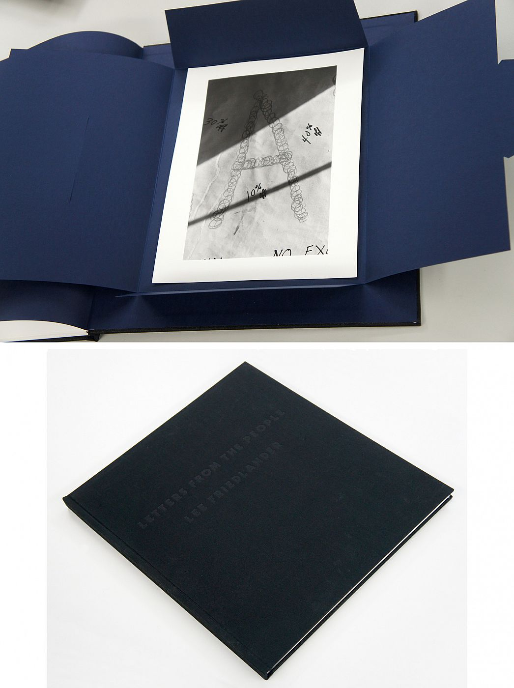 """Lee Friedlander: Letters from the People (Special Limited Edition with One Vintage Gelatin Silver Print: """"A"""")"""