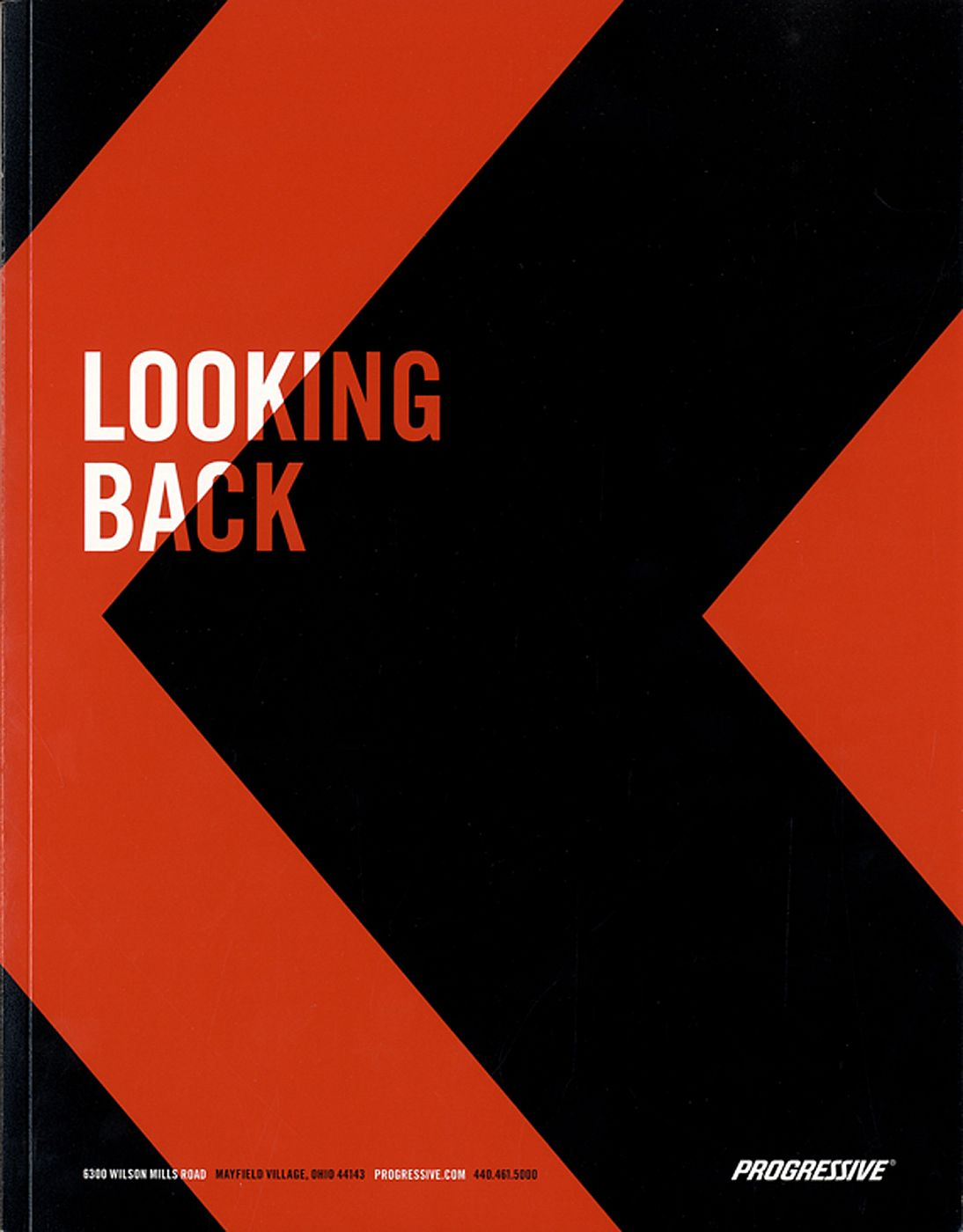 The Progressive Corporation 2014 Annual Report: Destination Ahead, Looking Back: Photographs by Lee Friedlander [SIGNED]