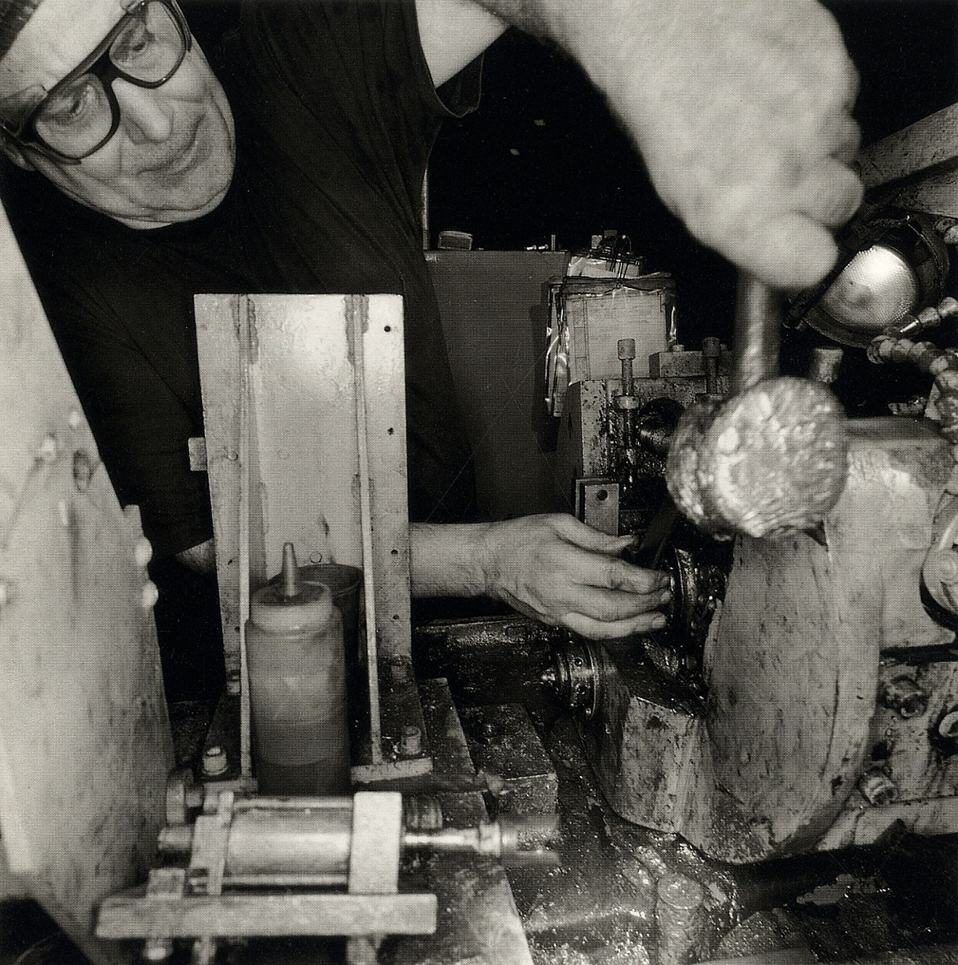 Lee Friedlander: People Working (The George Gund Foundation 1995 Annual Report) [SIGNED]
