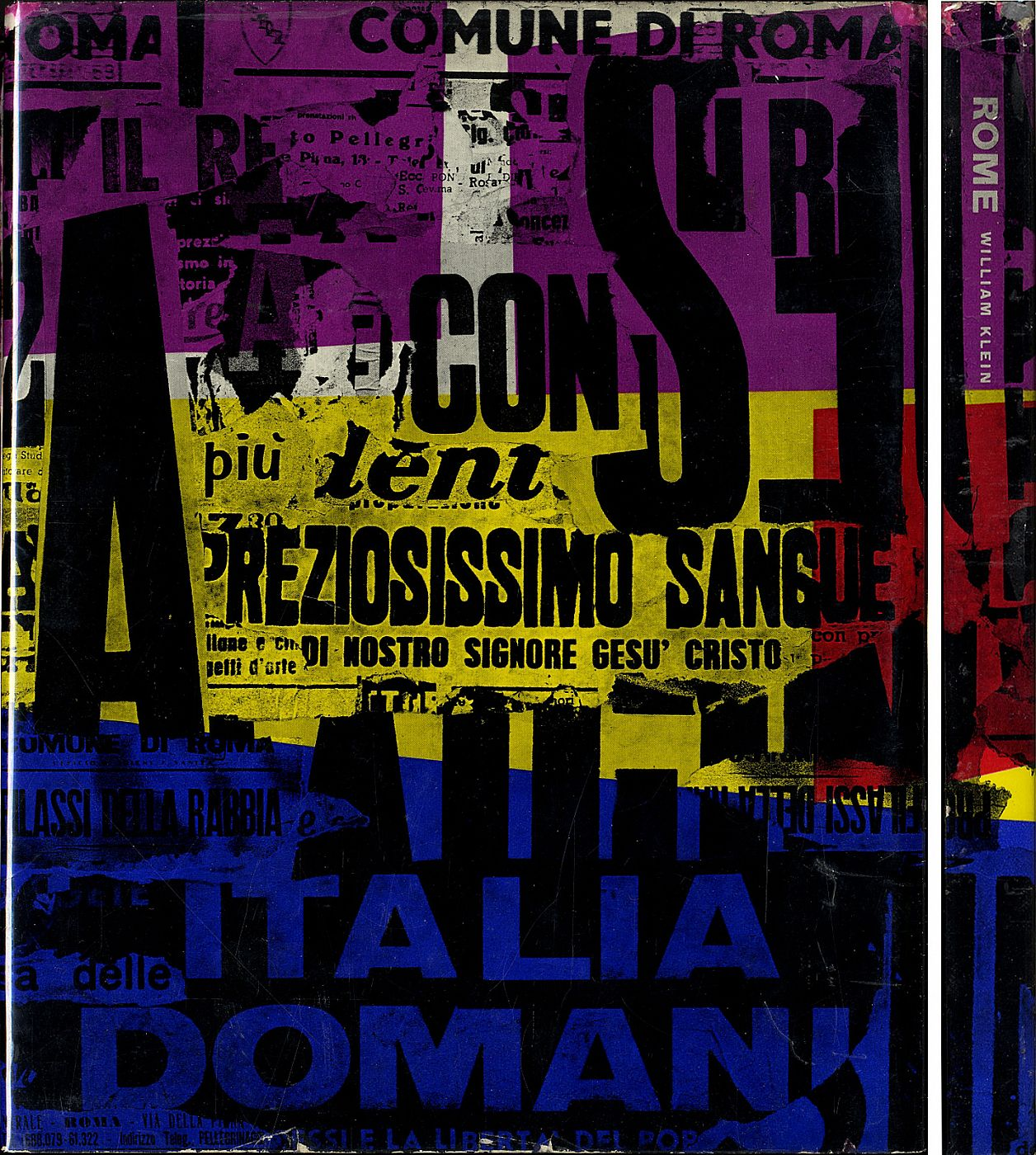 William Klein: Rome (Roma): The City and Its People (First French Edition) [PRESENTATION COPY: SIGNED, INSCRIBED & DATED in 1959, the Year of Publication]