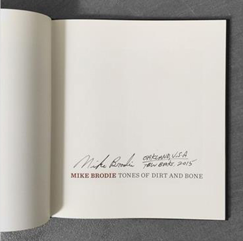 Mike Brodie: Tones of Dirt and Bone, Special Limited Edition Boxset and Display Case (with Three Type-C Prints)