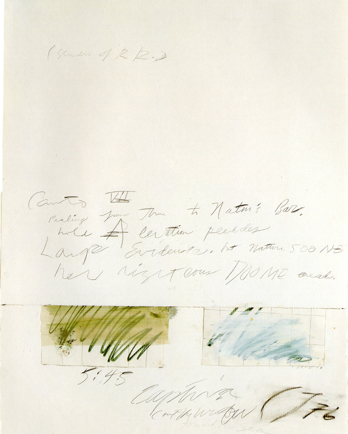 Cy Twombly (The Menil Collection)