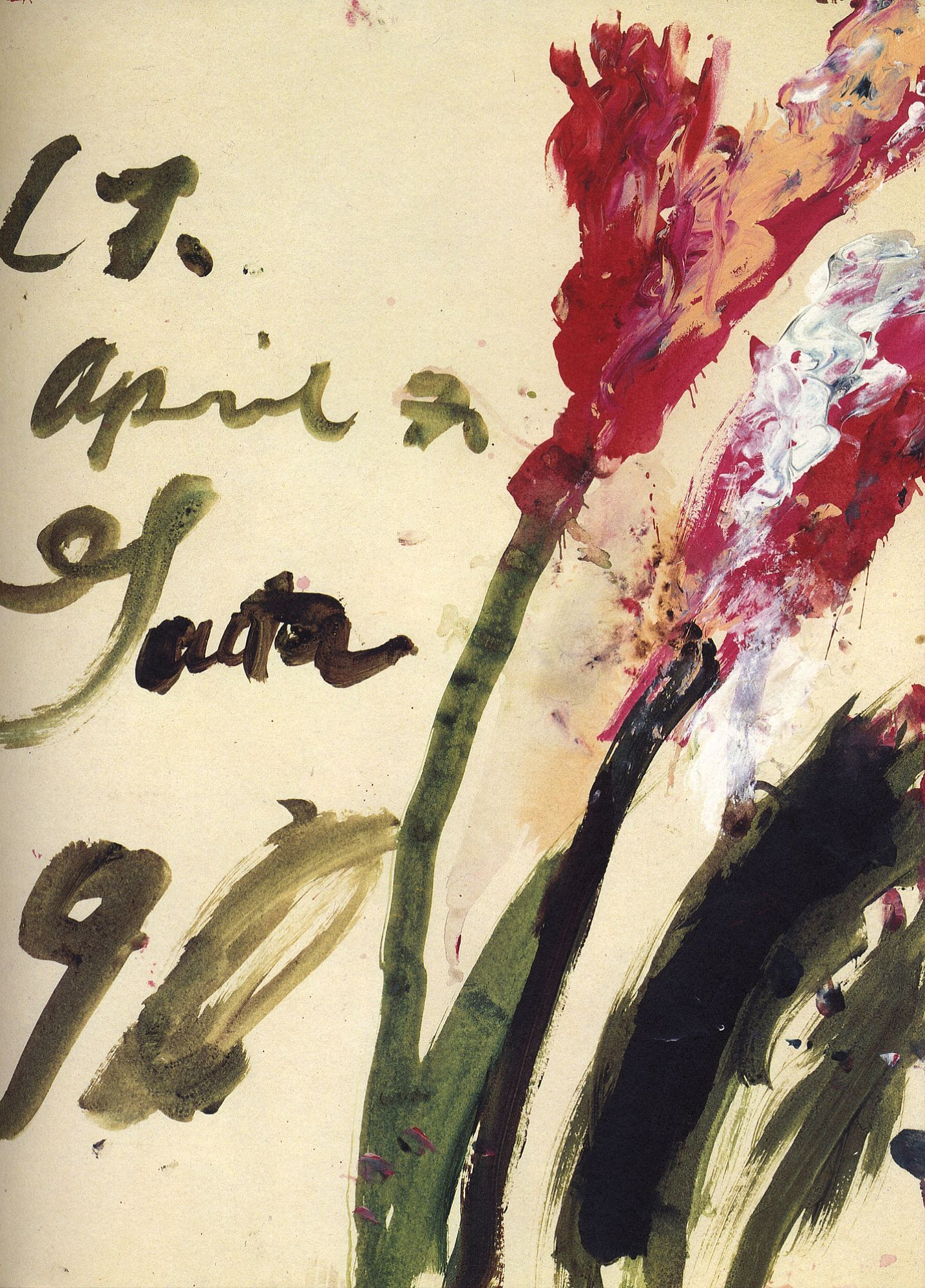 Souvenirs of D'Arros and Gaeta: Drawings by Cy Twombly, Limited Edition