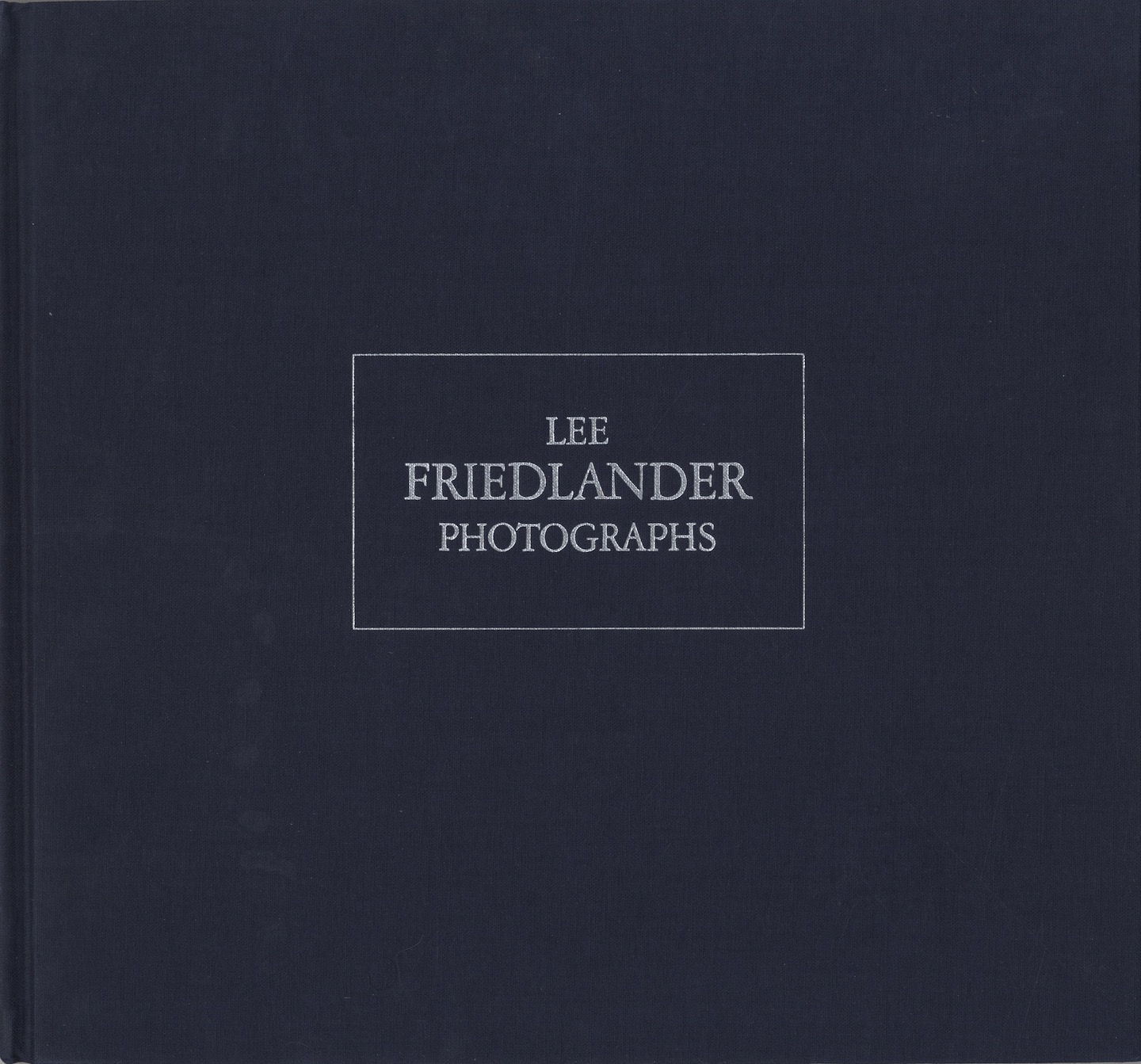 Lee Friedlander: Photographs (Haywire Press) [SIGNED]