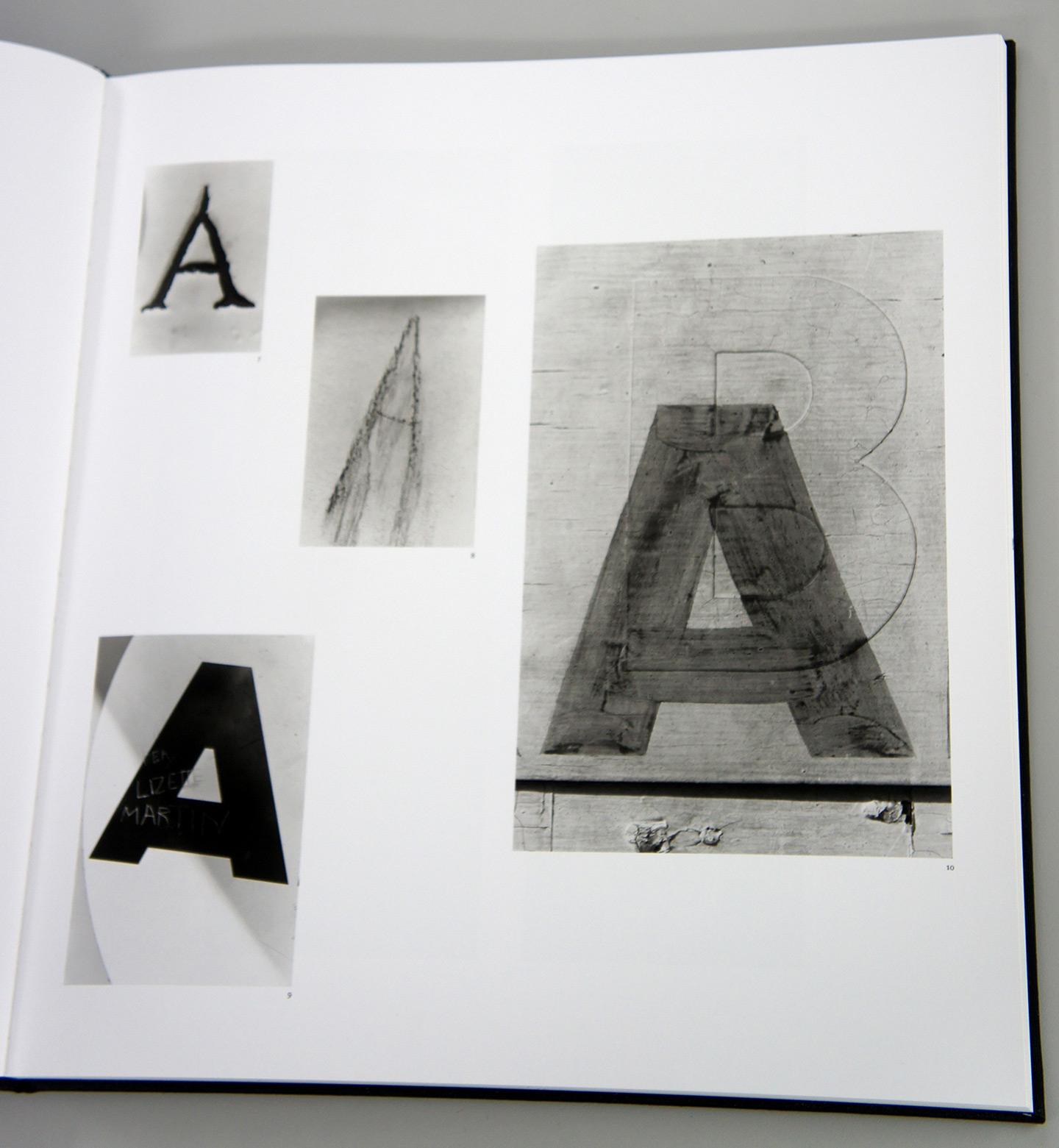"""Lee Friedlander: Letters from the People (Special Limited Edition with One Vintage Gelatin Silver Print: """"E"""")"""