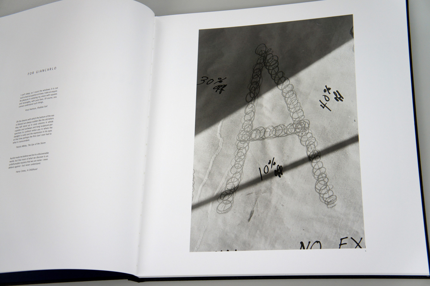 "Lee Friedlander: Letters from the People (Special Limited Edition with One Vintage Gelatin Silver Print: ""U"")"