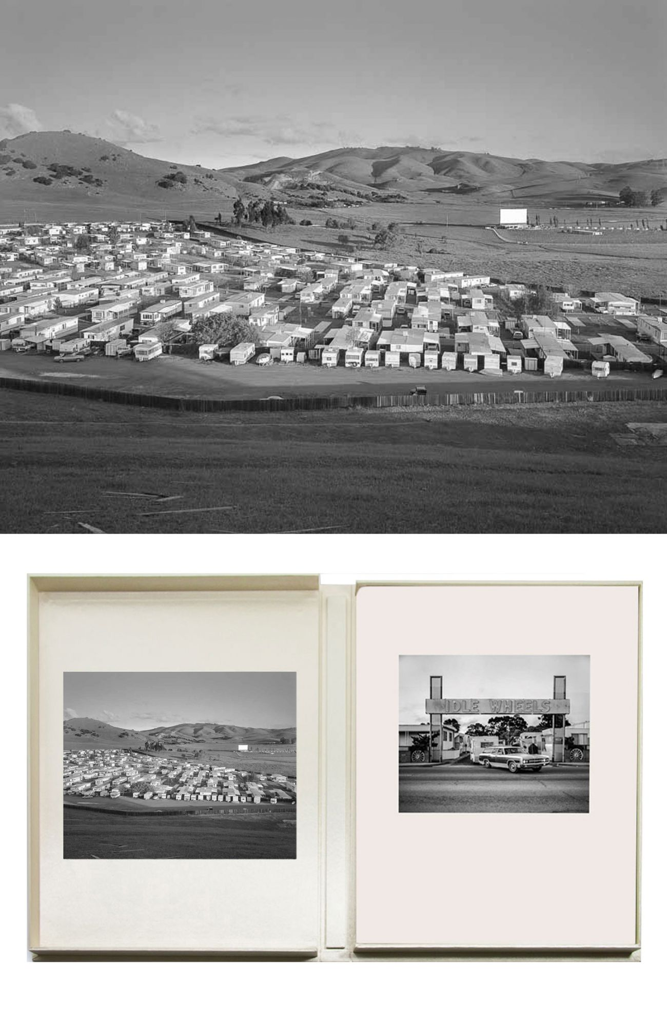NZ Library #2: John Schott: Mobile Homes 1975-1976, Special Limited Edition (with Print Variant 1) (NZ Library - Set Two, Volume Four) [SIGNED]