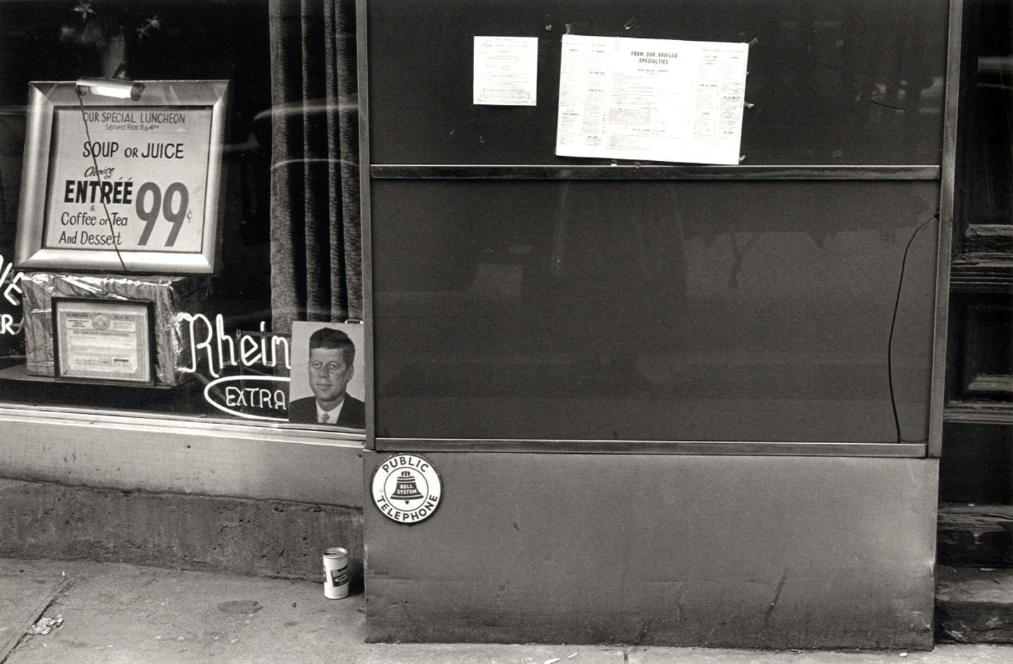 Lee Friedlander: JFK: A Photographic Memoir [SIGNED]