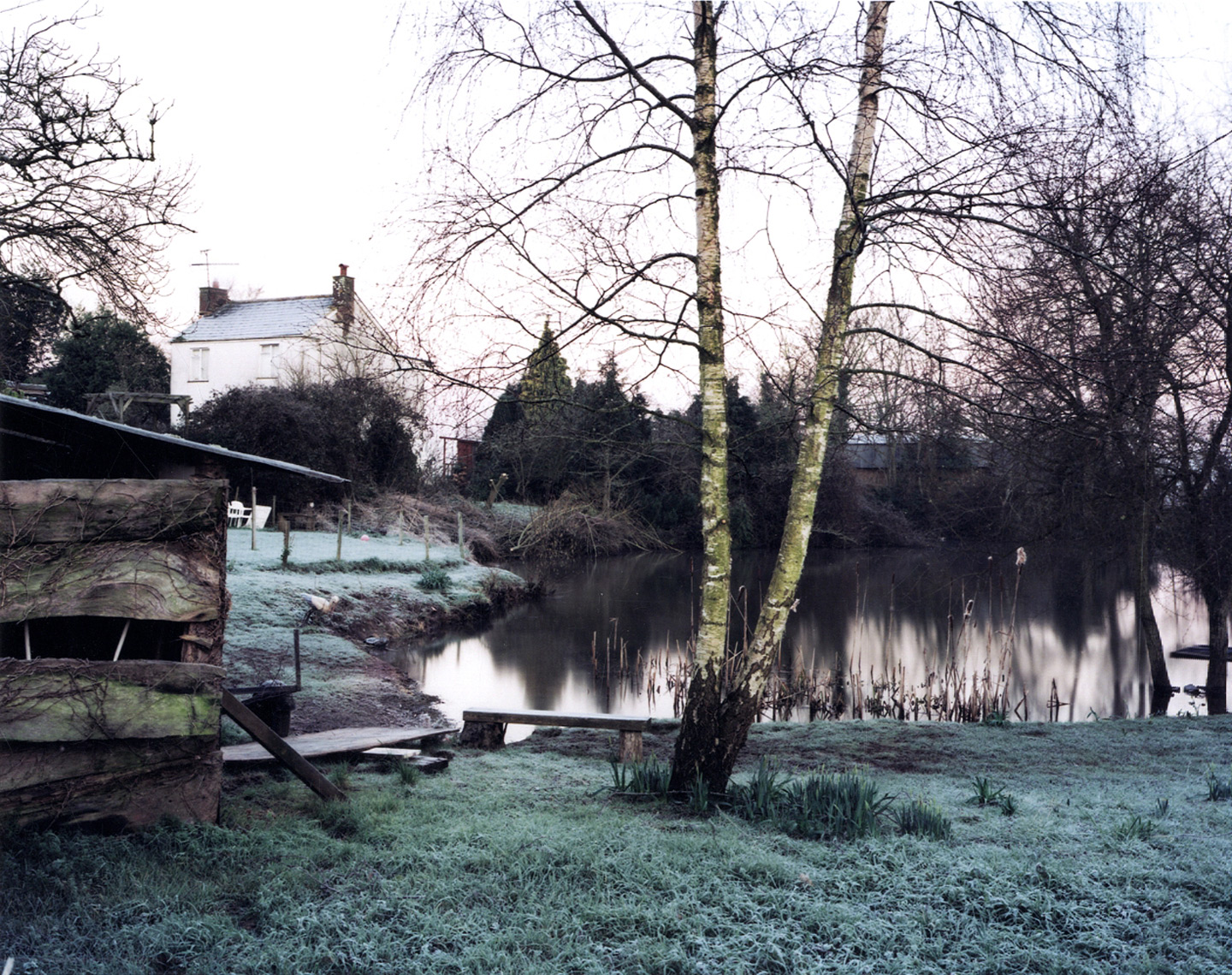 "Jem Southam: ""February 2001 from Upton Pyne,"" Limited Edition Type-C Print [SIGNED] (From Blind Spot #32 Tribute Issue)"