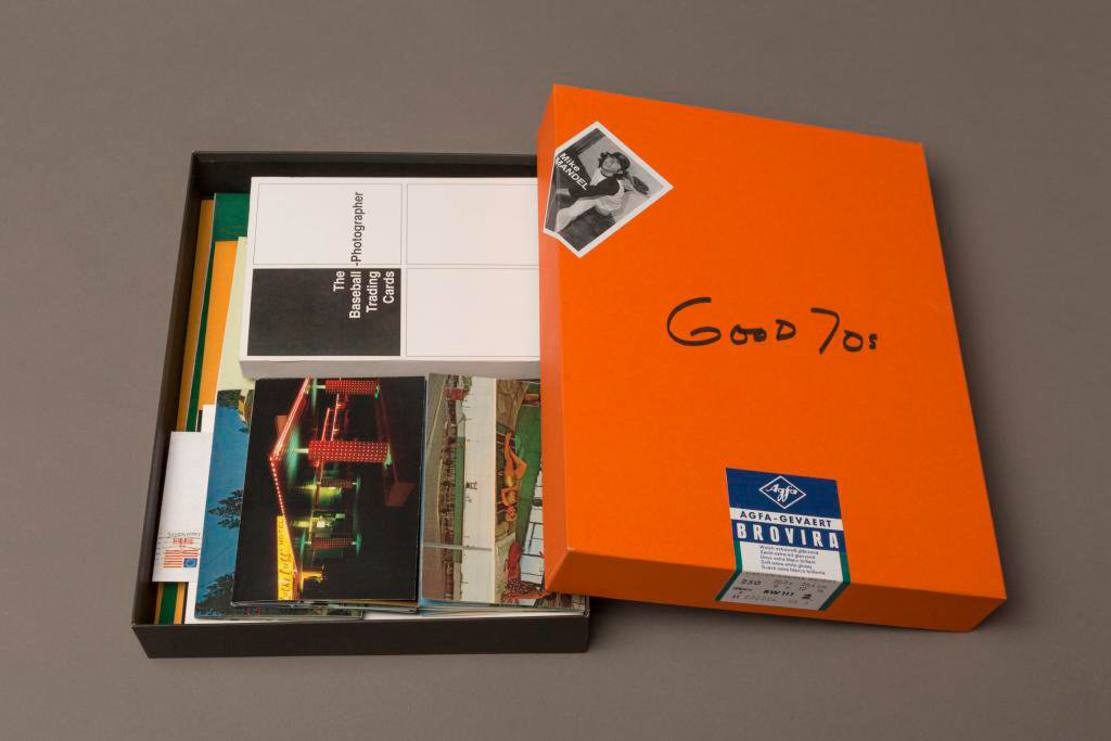 Mike Mandel: Good 70s (Without Pack of 10 Vintage Photographer Baseball Cards) [SIGNED]