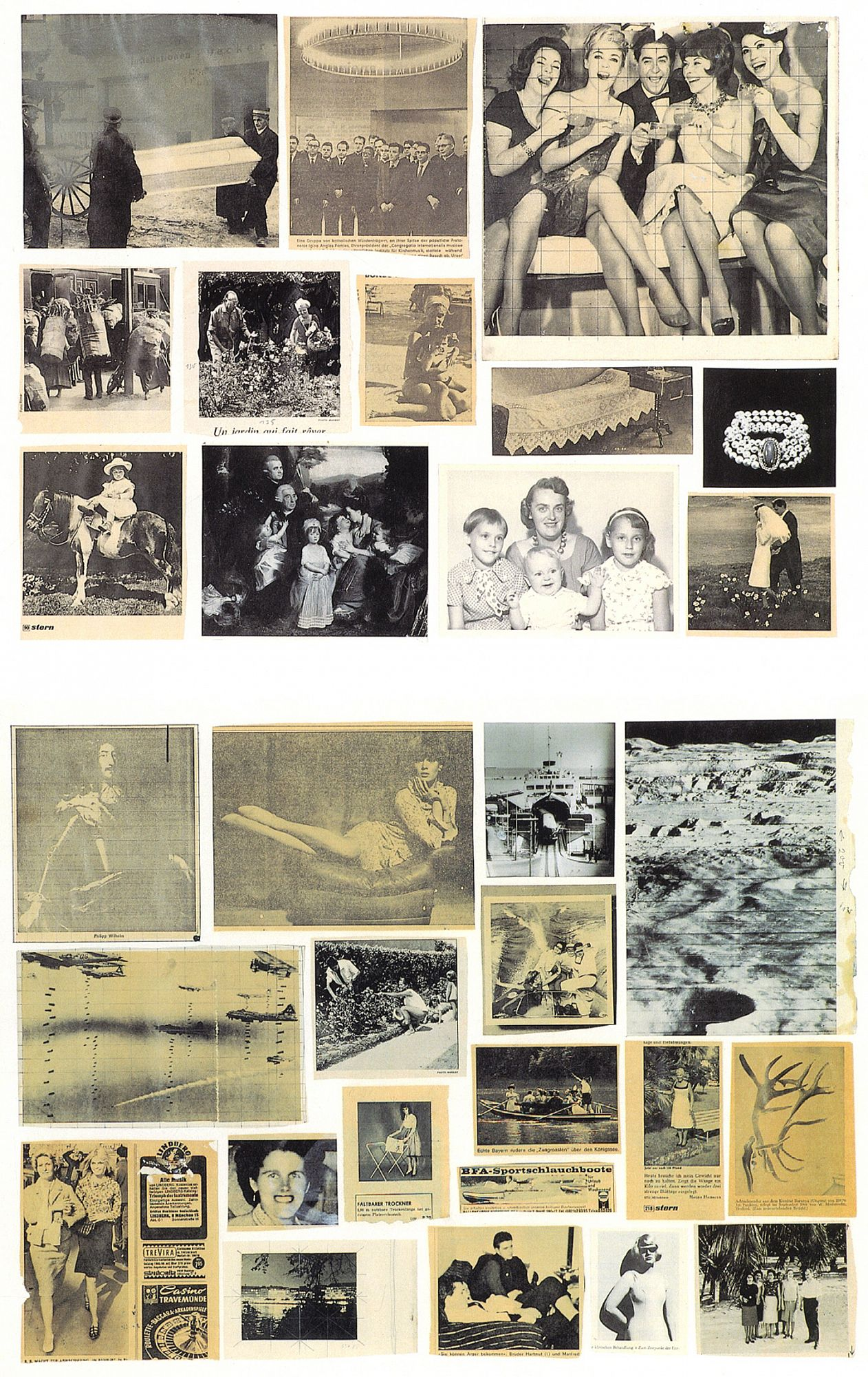 Gerhard Richter: Atlas of the Photographs, Collages and Sketches