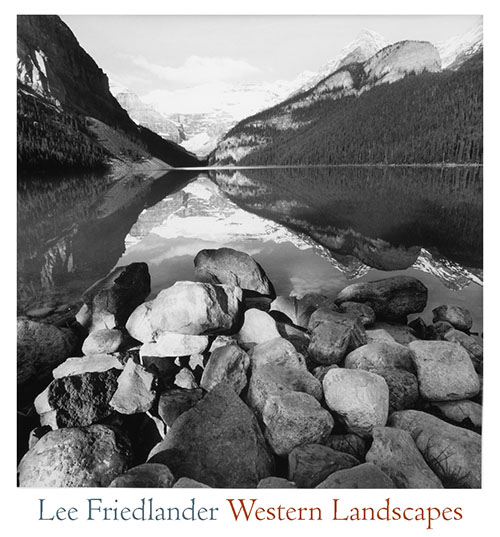 Lee Friedlander: Western Landscapes [SIGNED]