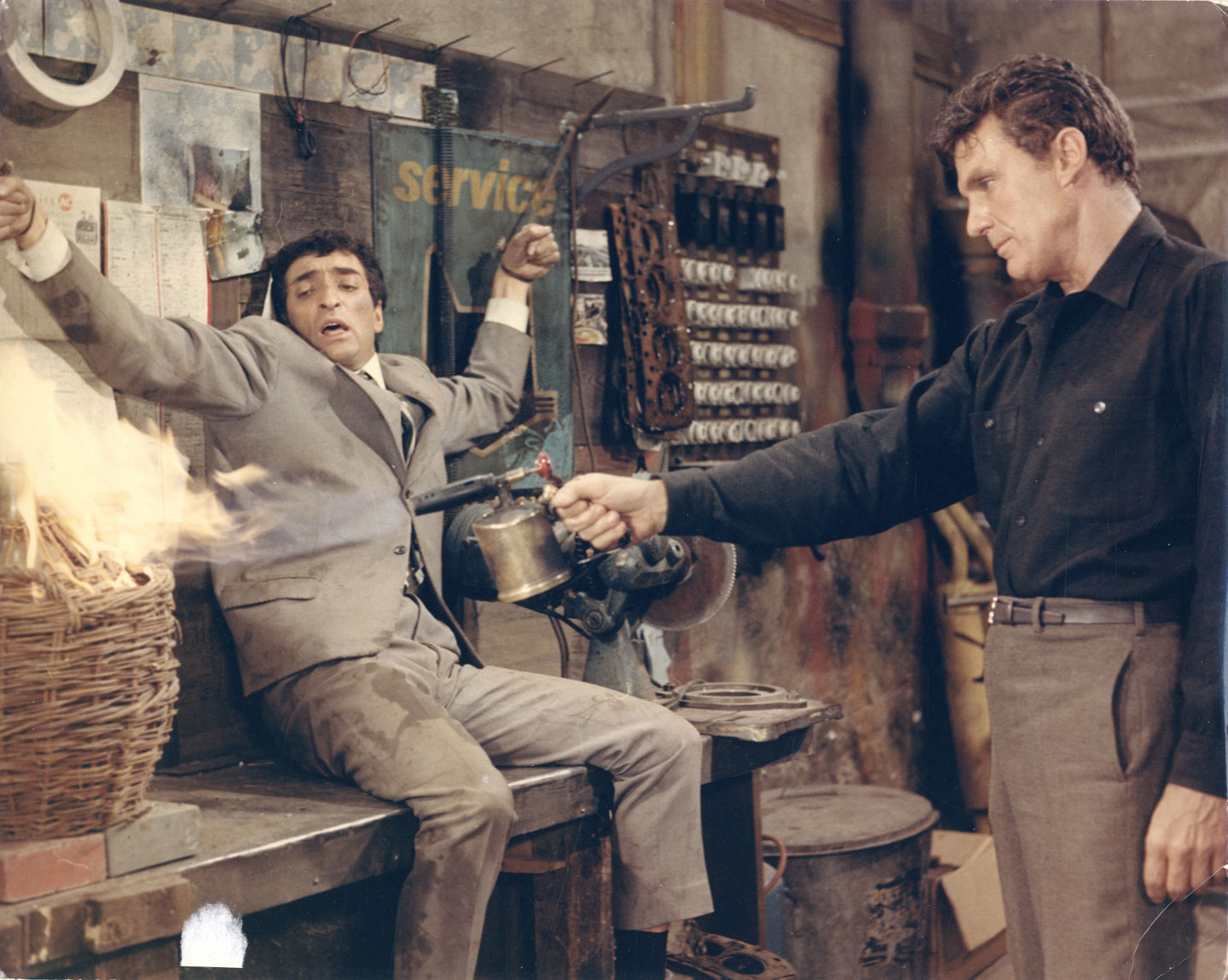 Marcel Dolé: Film Still from Action Man (Le Soleil des Voyous) (1967), starring Robert Stack