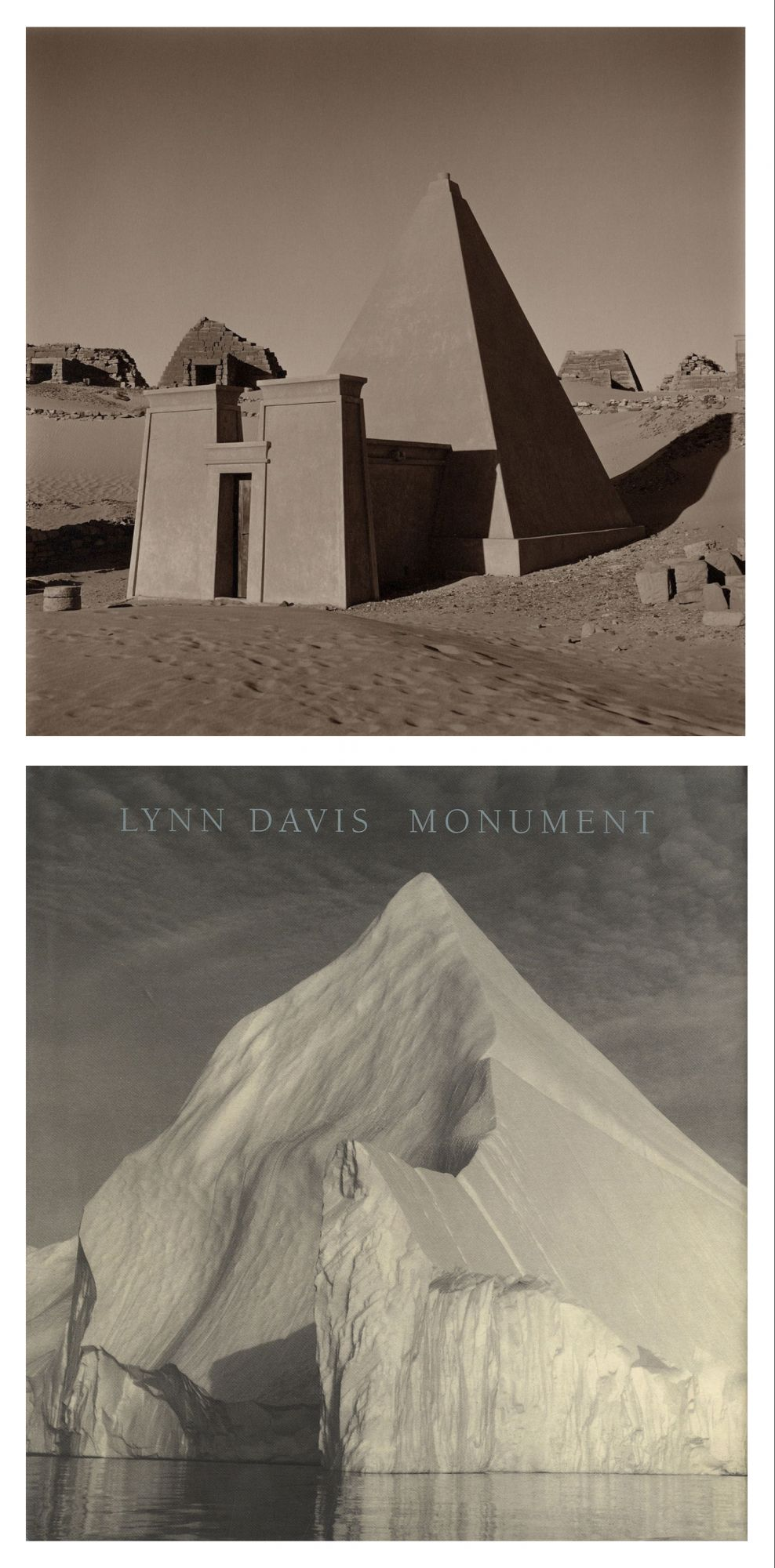 Lynn Davis: Monument, Limited Edition (with Toned Gelatin Silver Print; Edition #1/50)