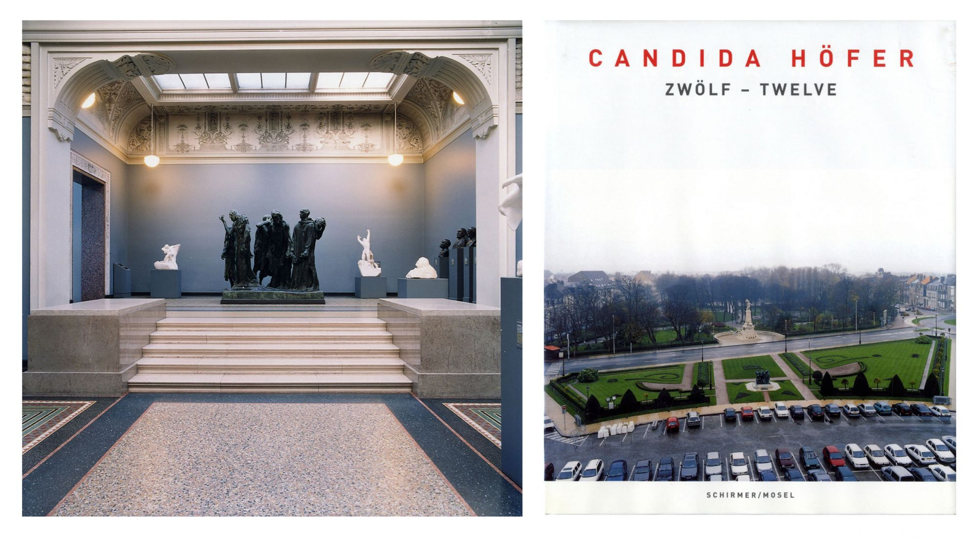 Candida Höfer: Zwölf - Twelve: Rodin/Calais, Limited Edition (with Type-C Print)