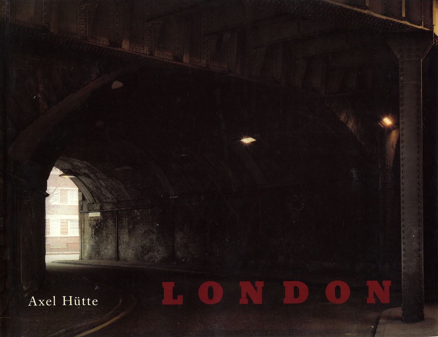 Axel Hütte: London, Photographien 1982-1984 [SIGNED]