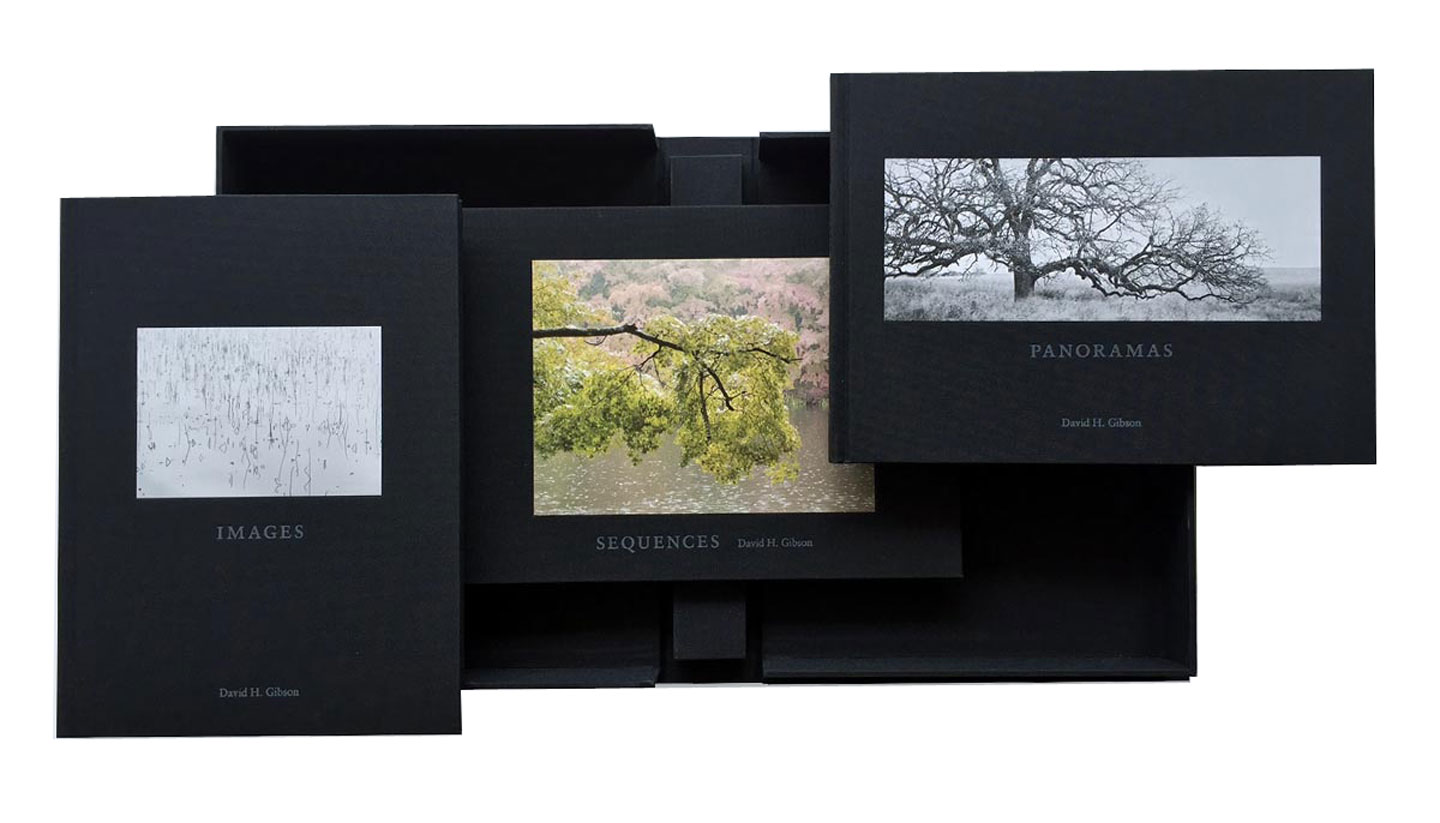 David H. Gibson: Images, Panoramas, Sequences, Limited Edition (3 Volume Set)