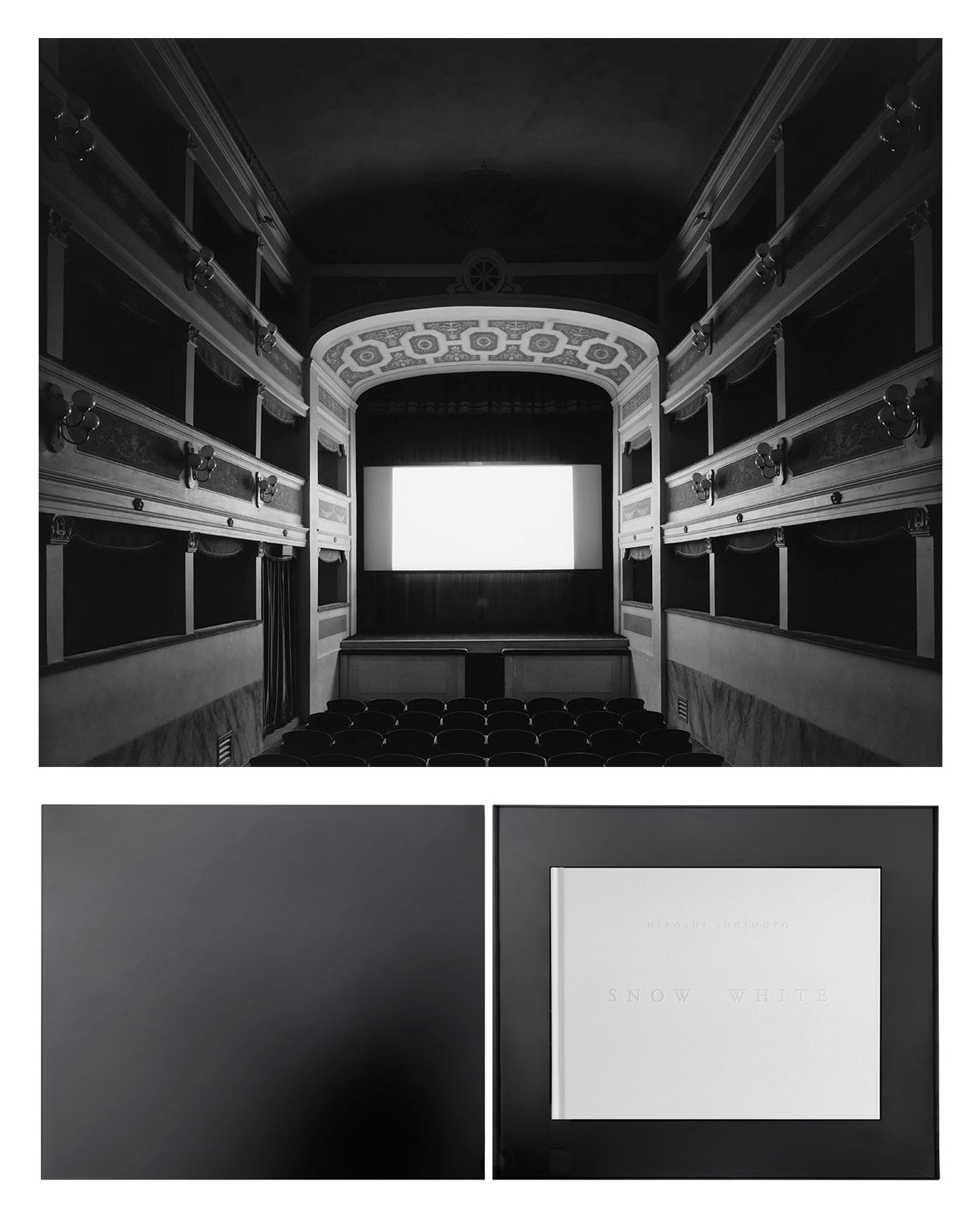 Hiroshi Sugimoto: Snow White, Collector's Limited Edition (with Print)