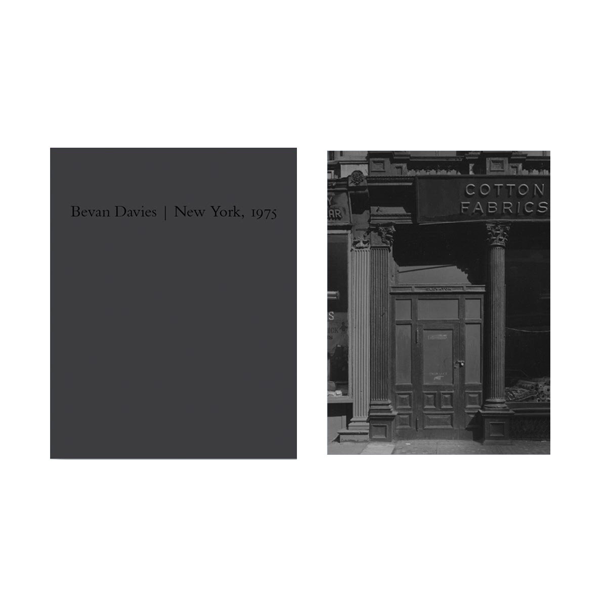 NZ Library #3: Bevan Davies: New York, 1975, Special Limited Edition (with Print) (NZ Library - Set Three) [SIGNED]