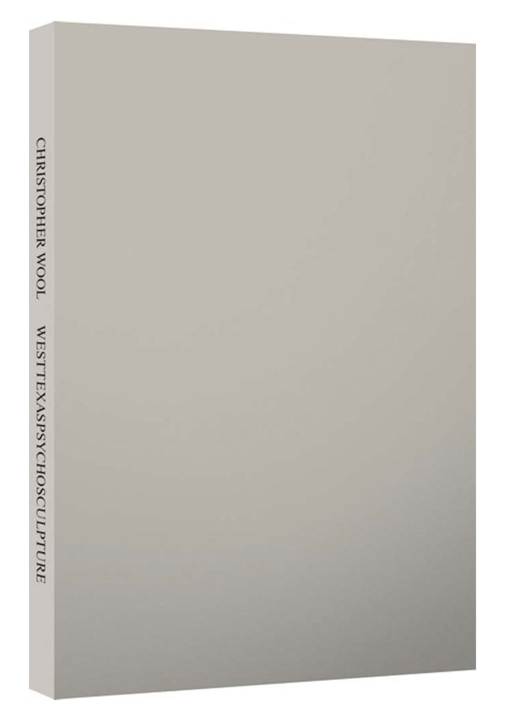 Christopher Wool: Road & Westtexaspsychosculpture (Two Volume Set), Limited Edition [SIGNED]