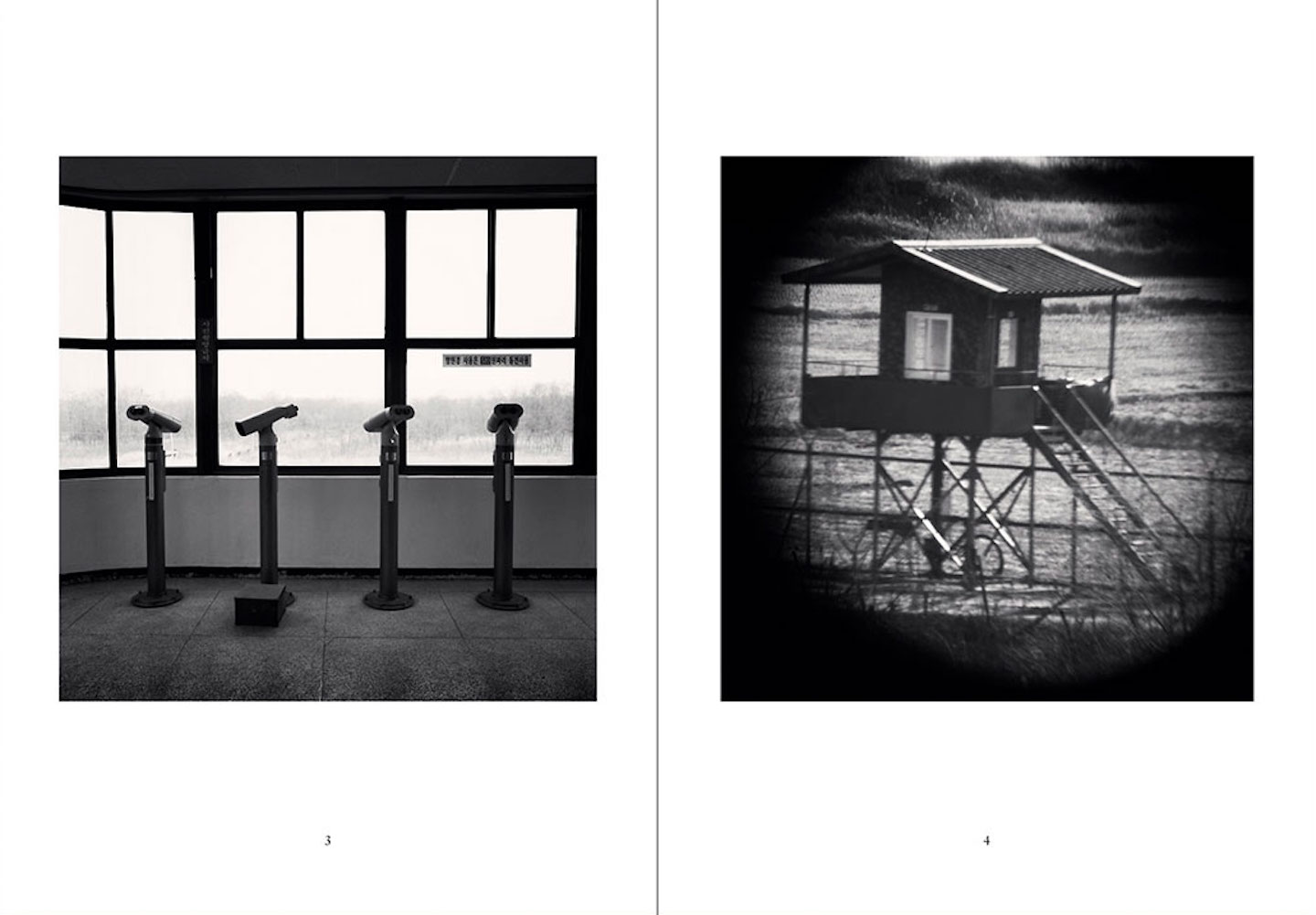 Nazraeli Press One Picture Book Two Series, Set 1: #1-4, Limited Edition(s) (with 4 Prints): Michael Kenna: DMZ (Korean Demilitarized Zone); Tony Mendoza: Florida Dogs; Betty Hahn: Lone Ranger; Carrie Mae Weems: Monument