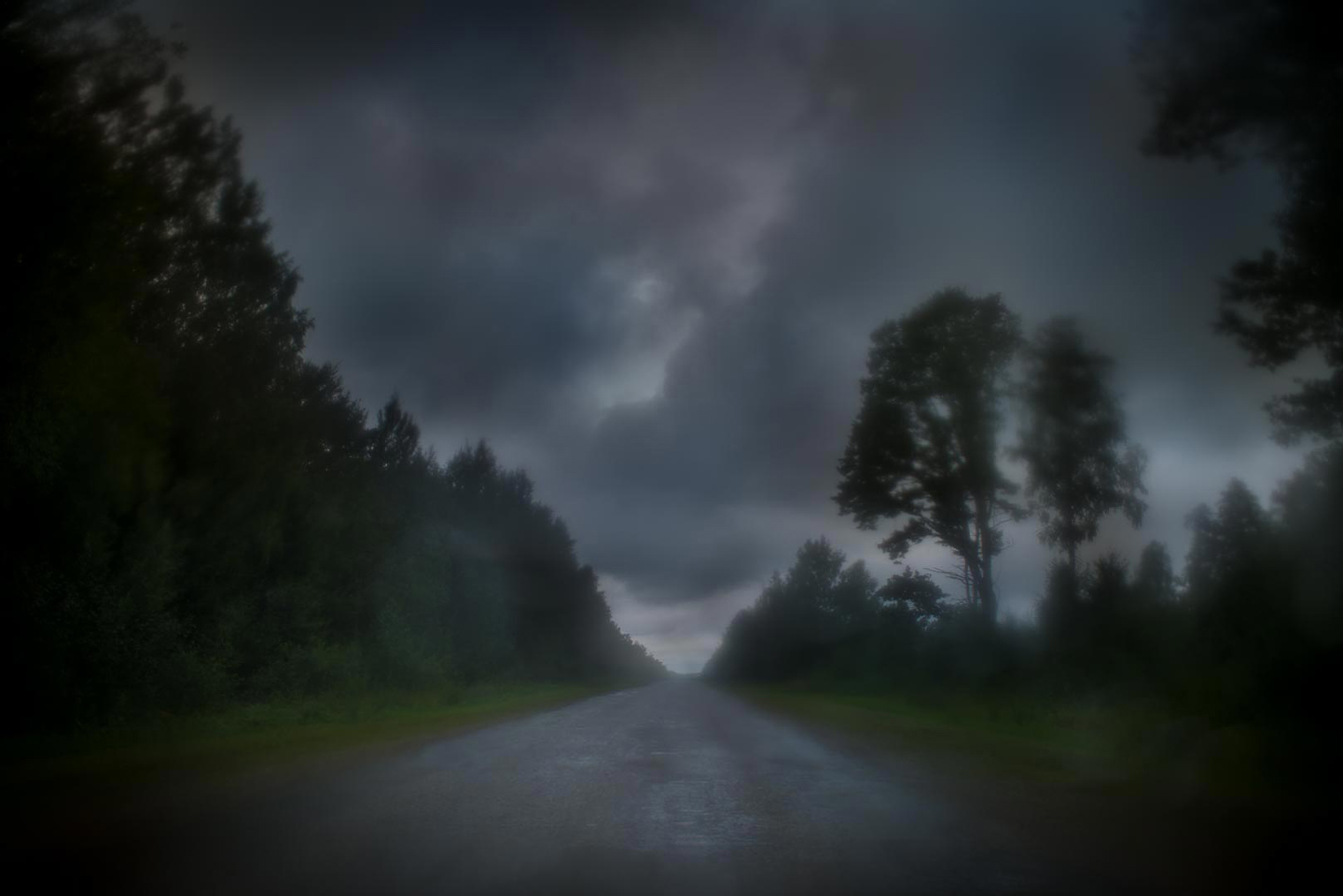 "Todd Hido: #11342-0103, 2014, ed. #2/12 (11-1/2x17-inch Original Archival Pigment Print from ""Bright Black World"" Series)"