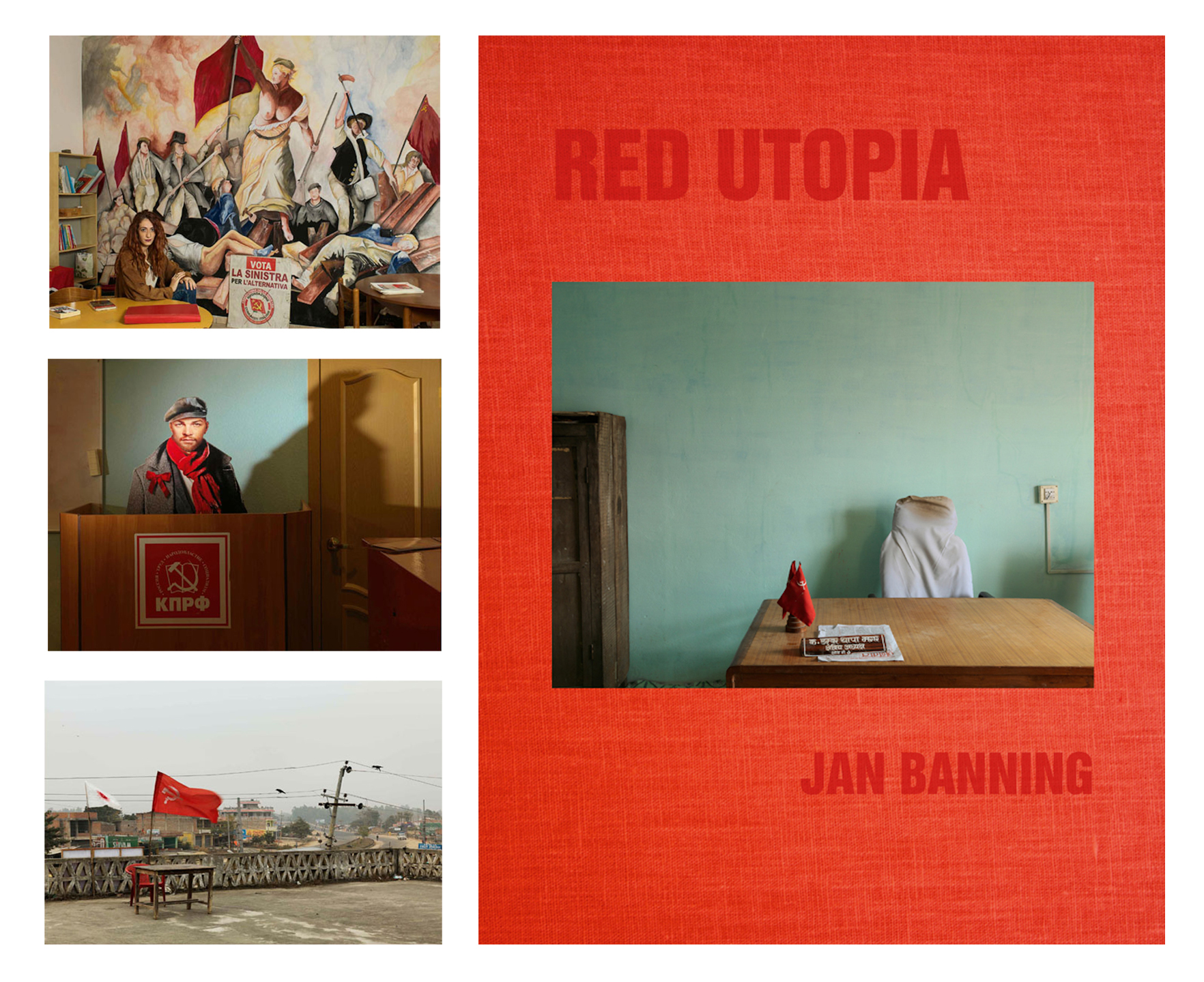 Jan Banning: Red Utopia, Special Limited Edition (with 3 Prints)