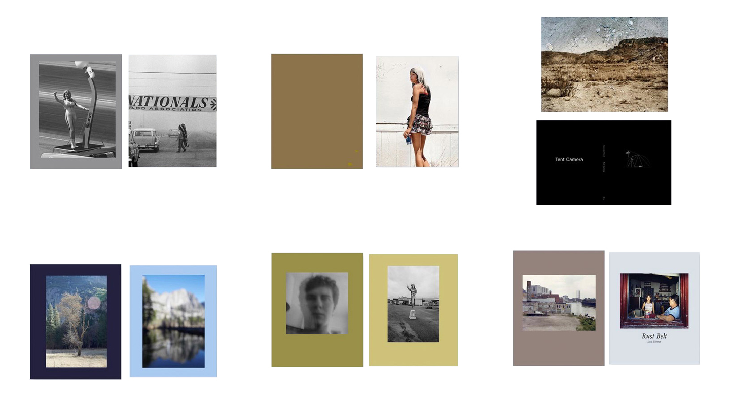 NZ Library: Set #4 (Six Volumes), Limited Edition [SIGNED]: Steve Banks: Nitro: Drag Racing in the Sixties; Katy Grannan: Hundreds of Sparrows, Volume Two; Abelardo Morell: Tent Camera; Catherine Opie: Yosemite; Mark Steinmetz: Angel City West, Volume Three; Jack Teemer: Rust Belt