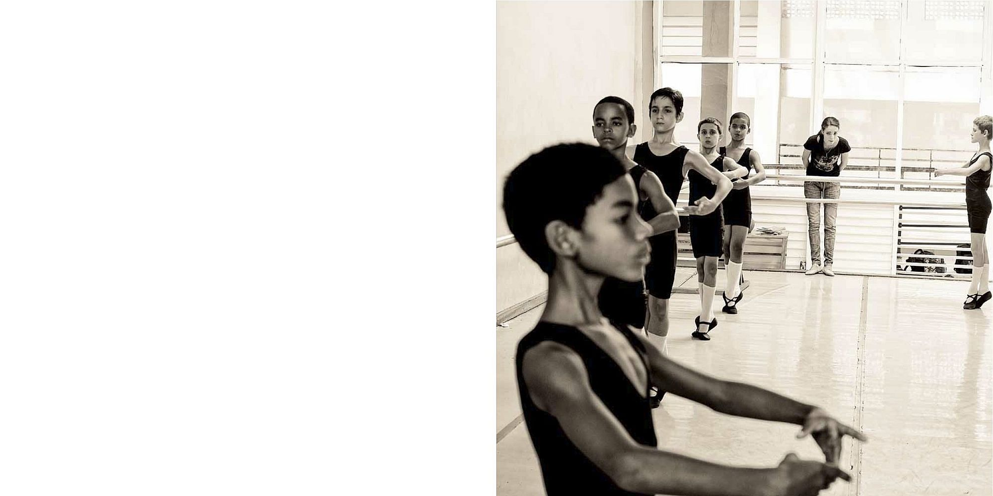 Rebekah Bowman: Portrait of the Cuban School of Ballet, Special Limited Edition (with Original Print) [SIGNED]