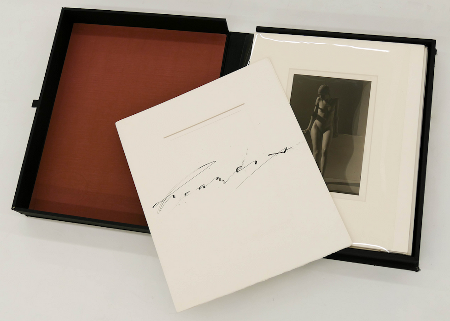 Marsha Burns: Dreamers, Portfolio (with 12 Gelatin Silver Prints) [SIGNED]