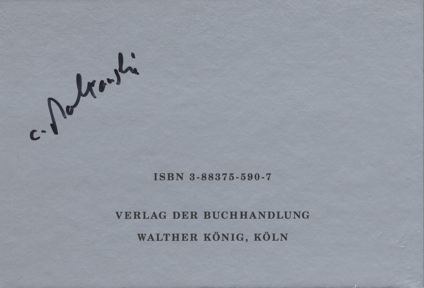 Christian Boltanski: Scratch, Limited Edition of 200 [SIGNED]