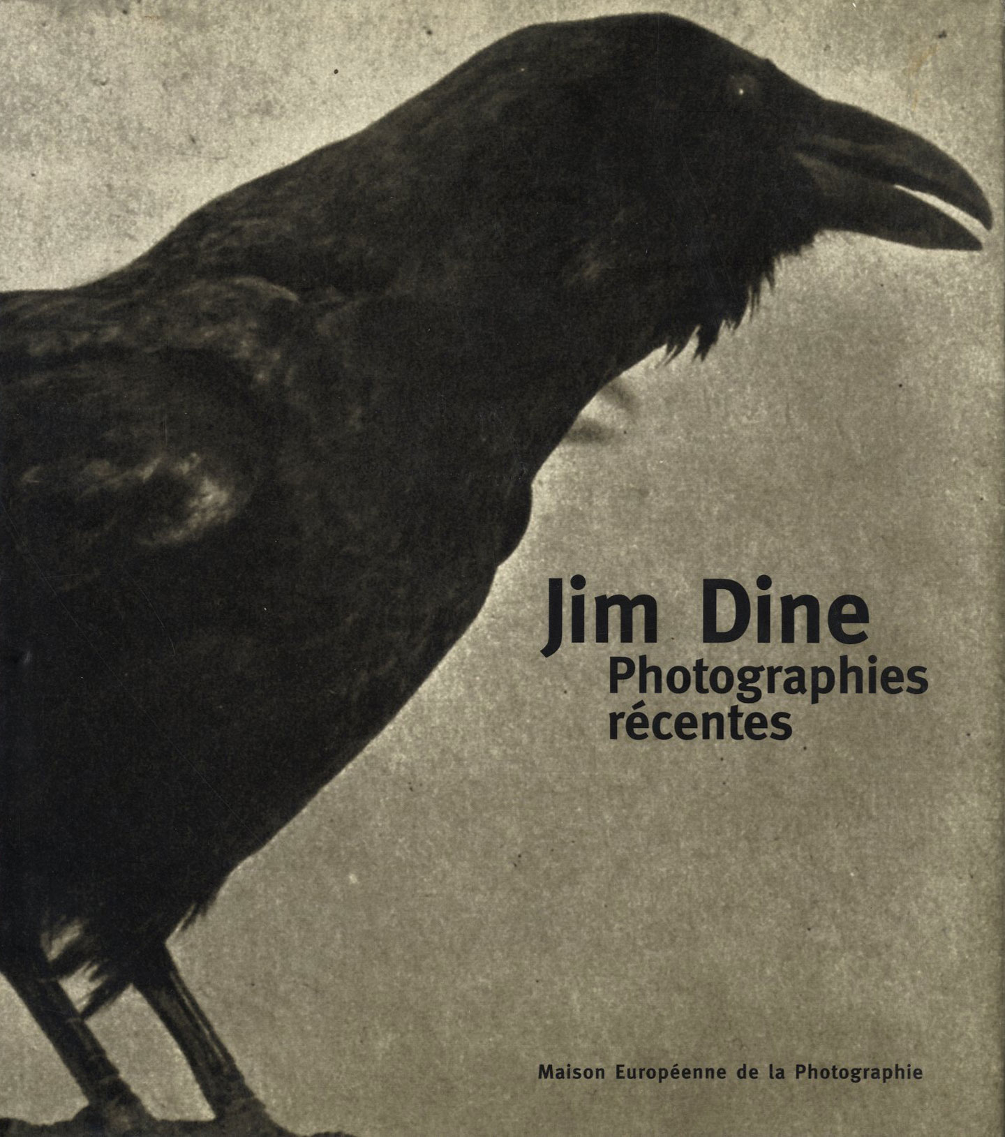 Jim Dine: Photographies récentes [SIGNED]