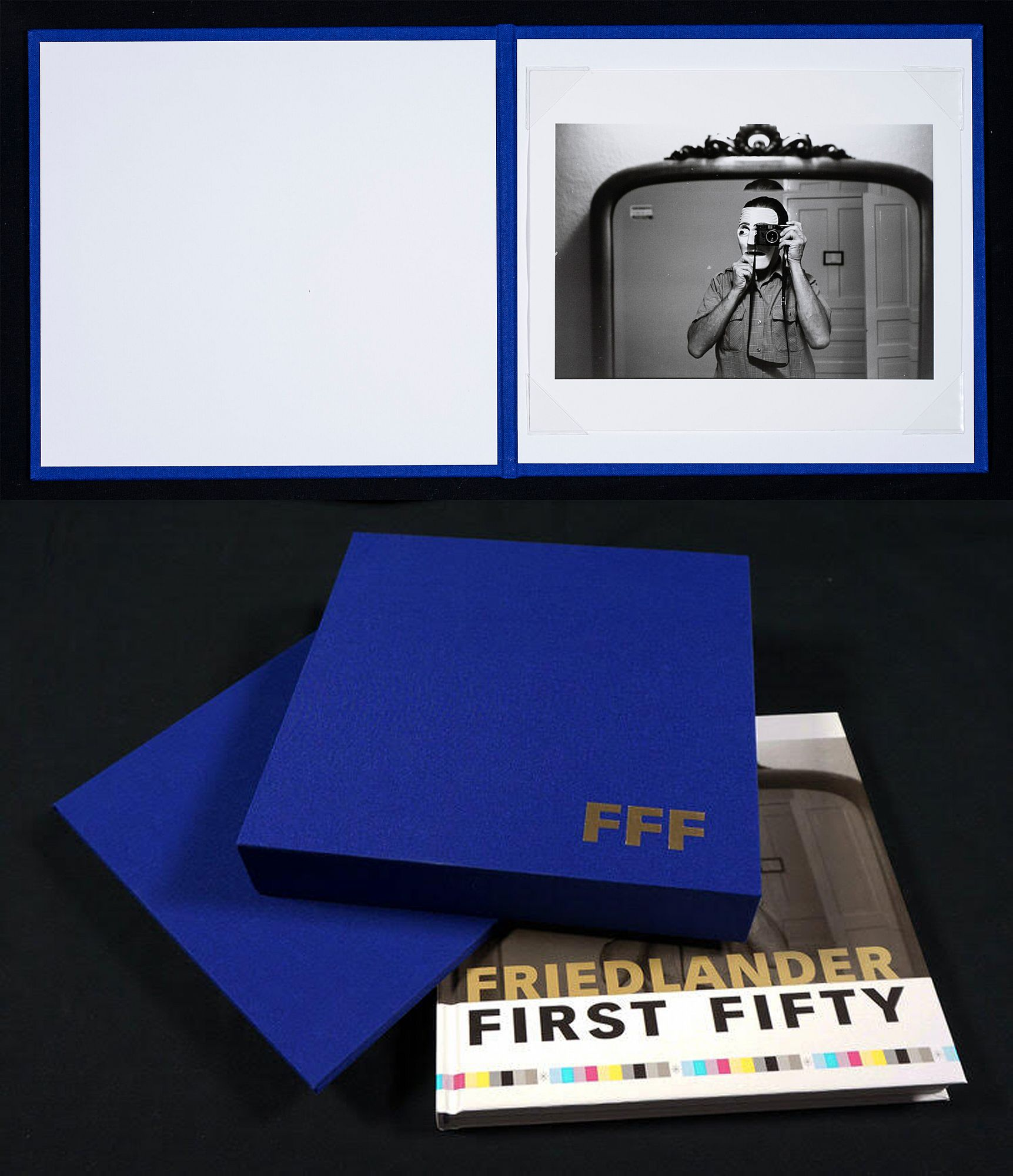Lee Friedlander: Friedlander First Fifty, Special Limited Edition with Gelatin Silver Print [SIGNED]