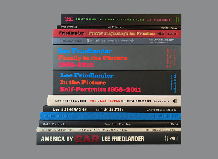 Lee Friedlander: Friedlander First Fifty, The Complete Collection, Limited Edition (with Gelatin Silver Print) [SIGNED]