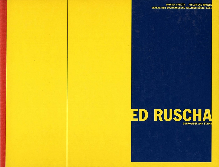 Ed Ruscha: Gunpowder and Stains