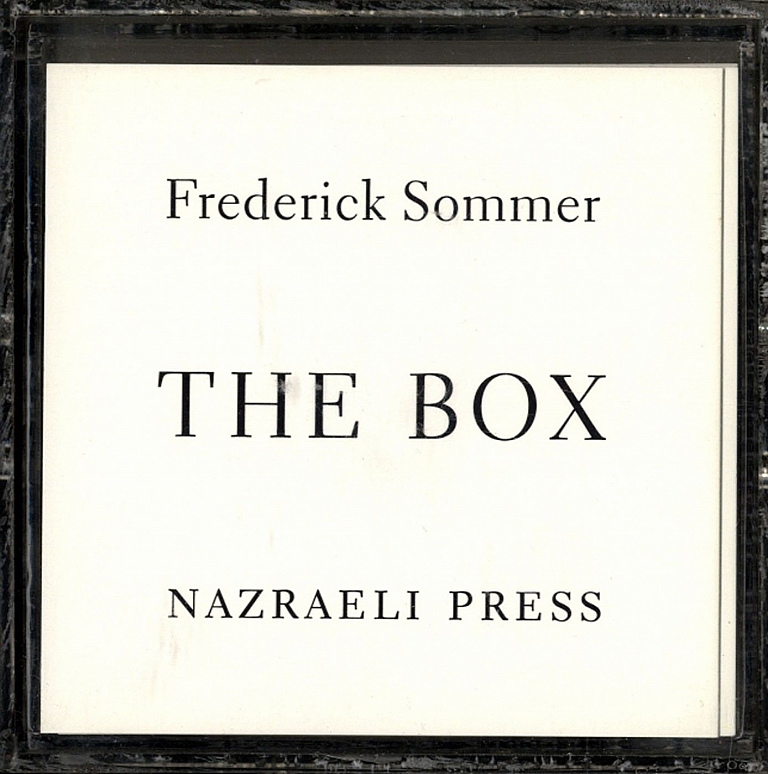 Frederick Sommer: The Box, Limited Edition (First Edition)