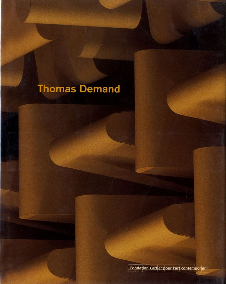 Thomas Demand (Actes Sud and Fondation Cartier pour l'art contemporain, French Edition)