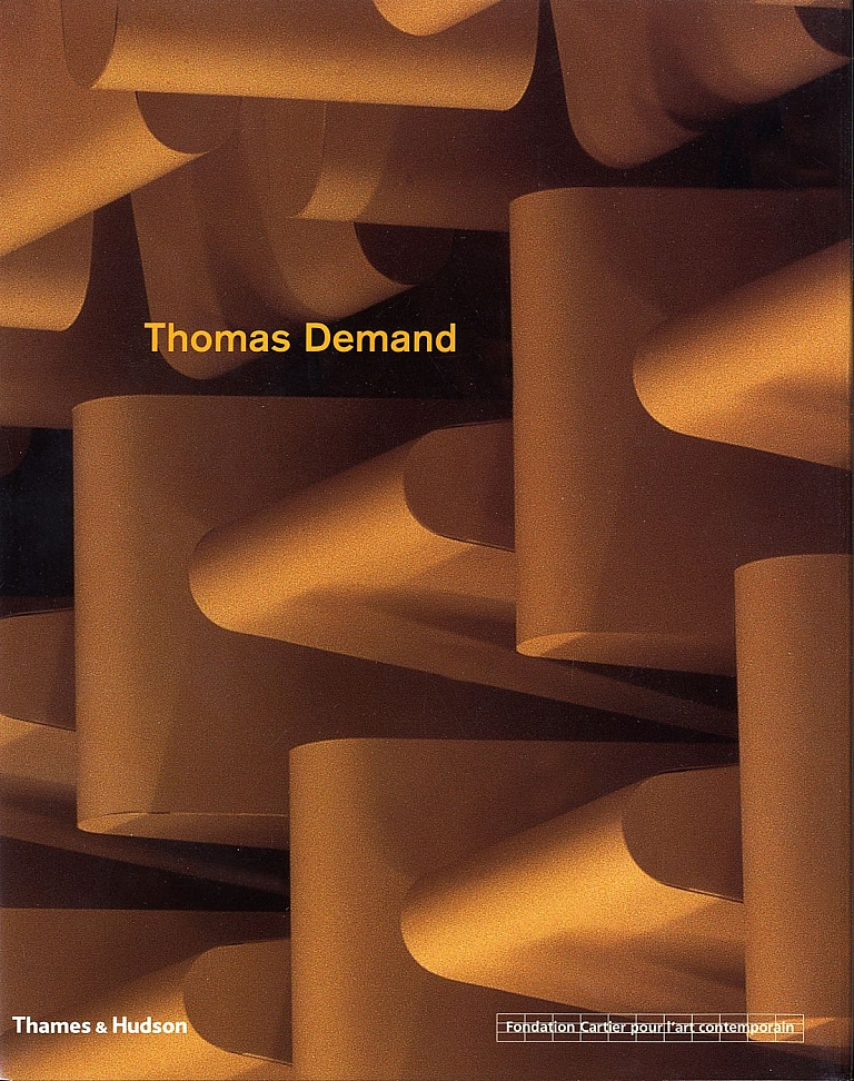 Thomas Demand (Fondation Cartier pour l'art contemporain, English Edition