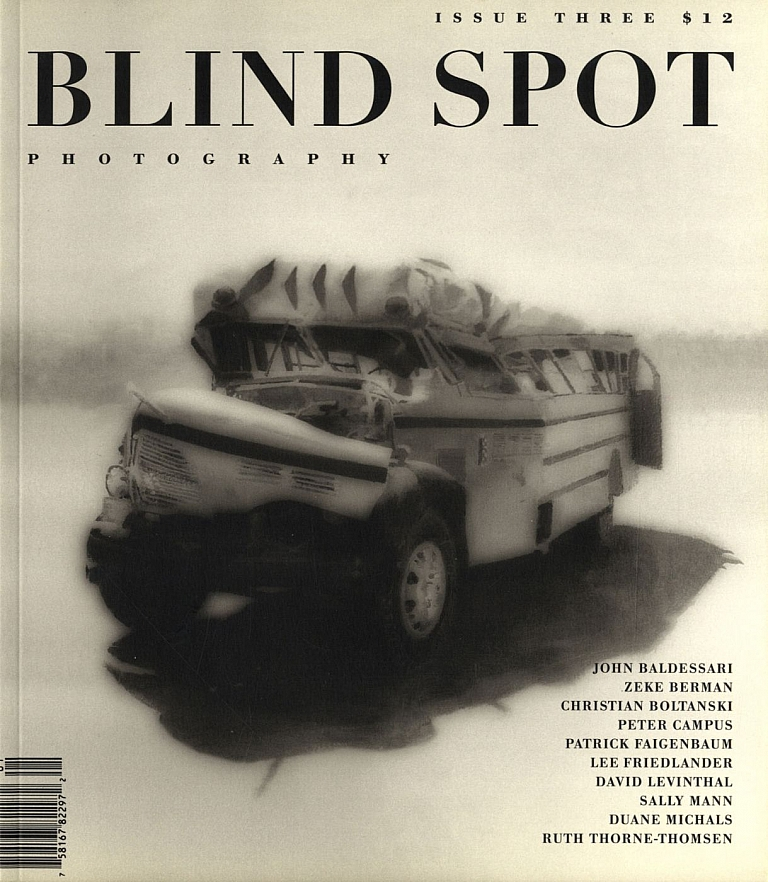 Blind Spot #3 (Photography Journal, Issue Three