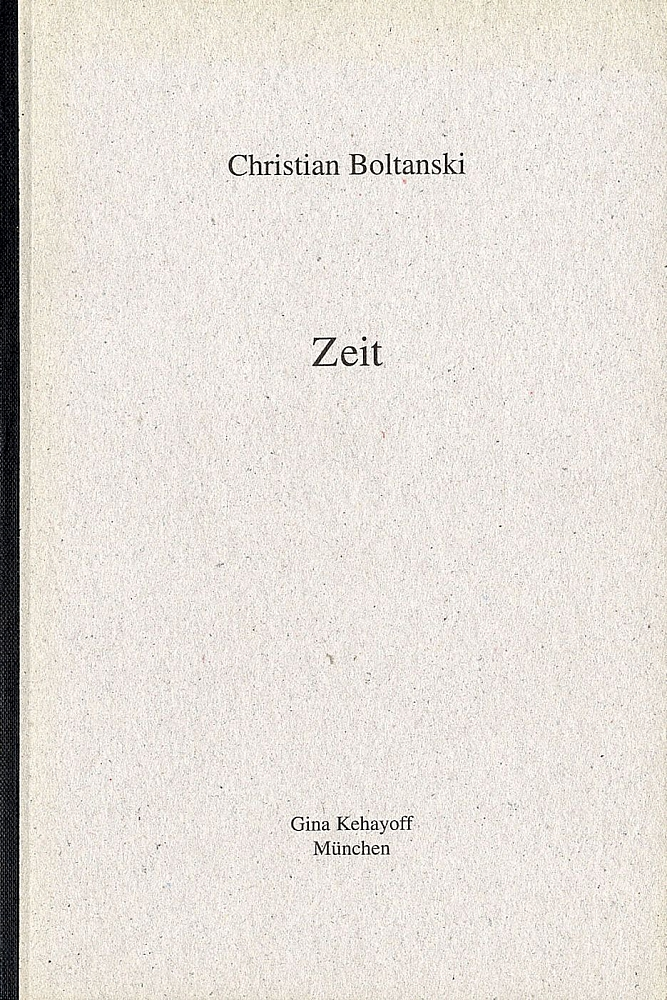 Christian Boltanski: Zeit (Time