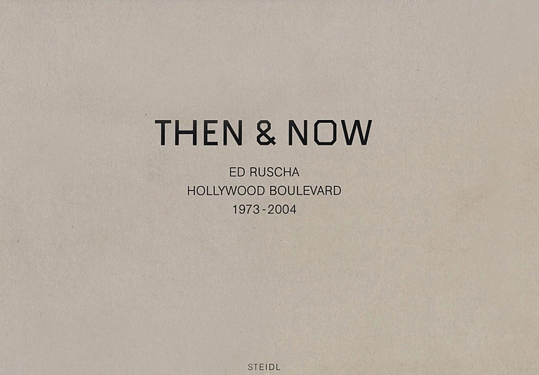 Ed Ruscha: Then & Now, Hollywood Boulevard 1973-2004 (New